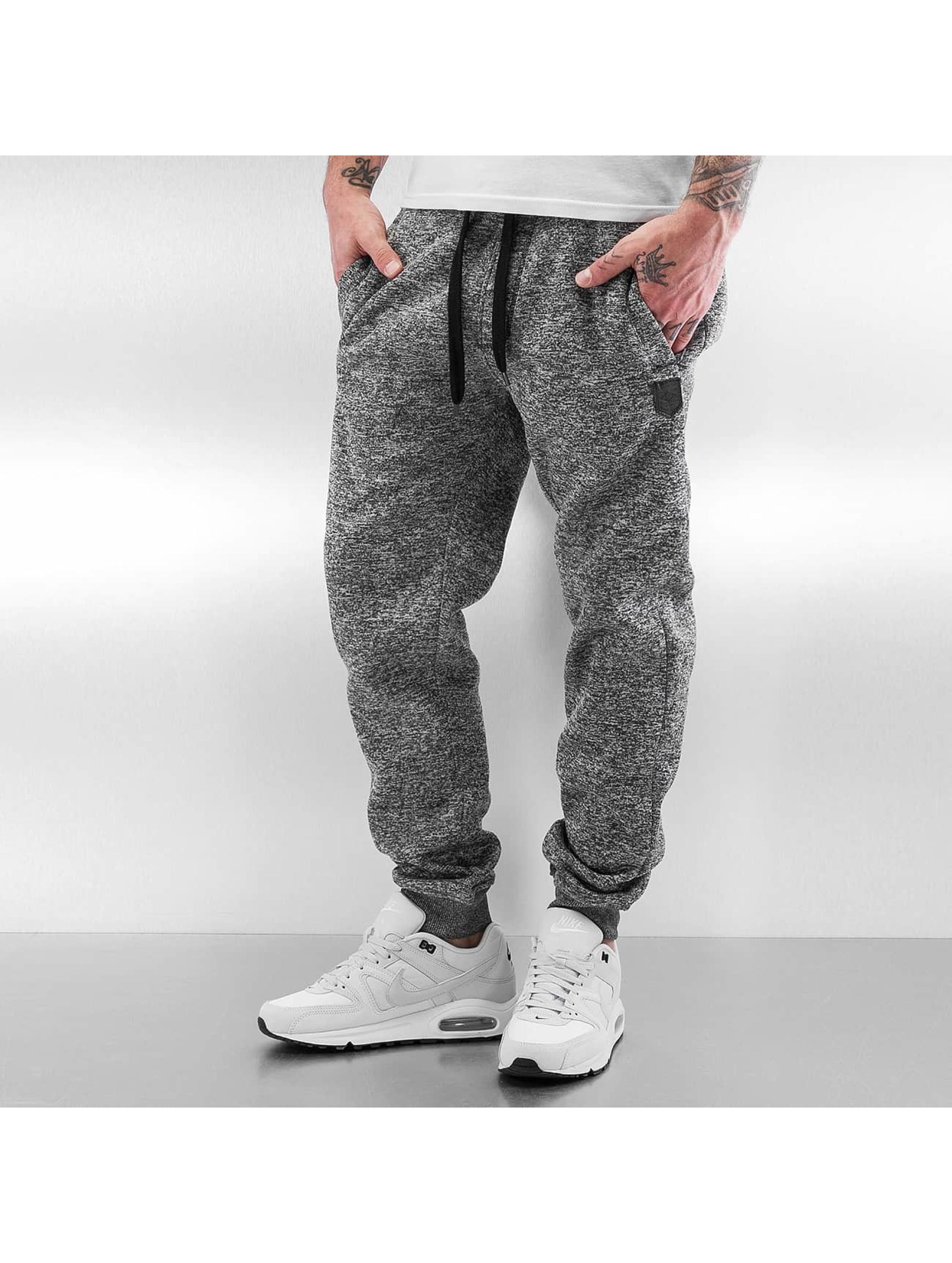 Southpole Sweat Pant Marled grey