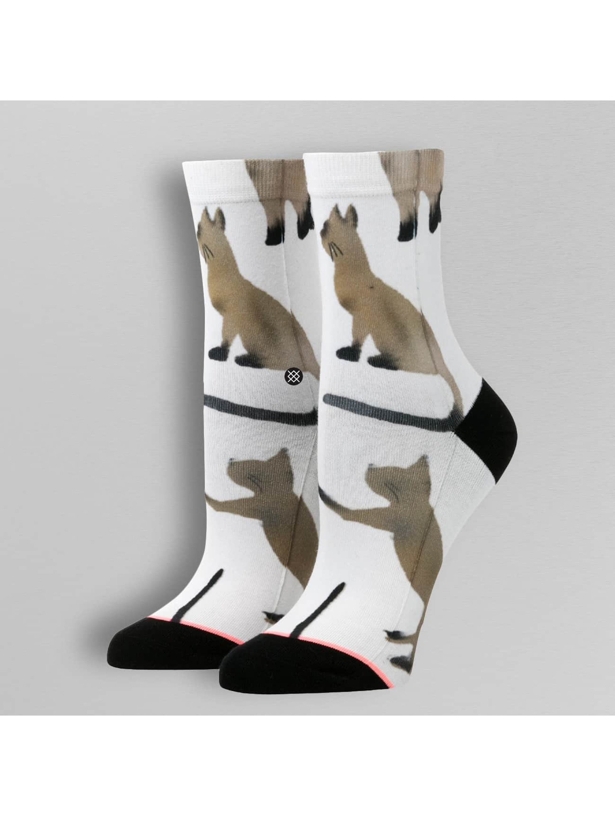 Stance Chaussettes Reserve Cats blanc