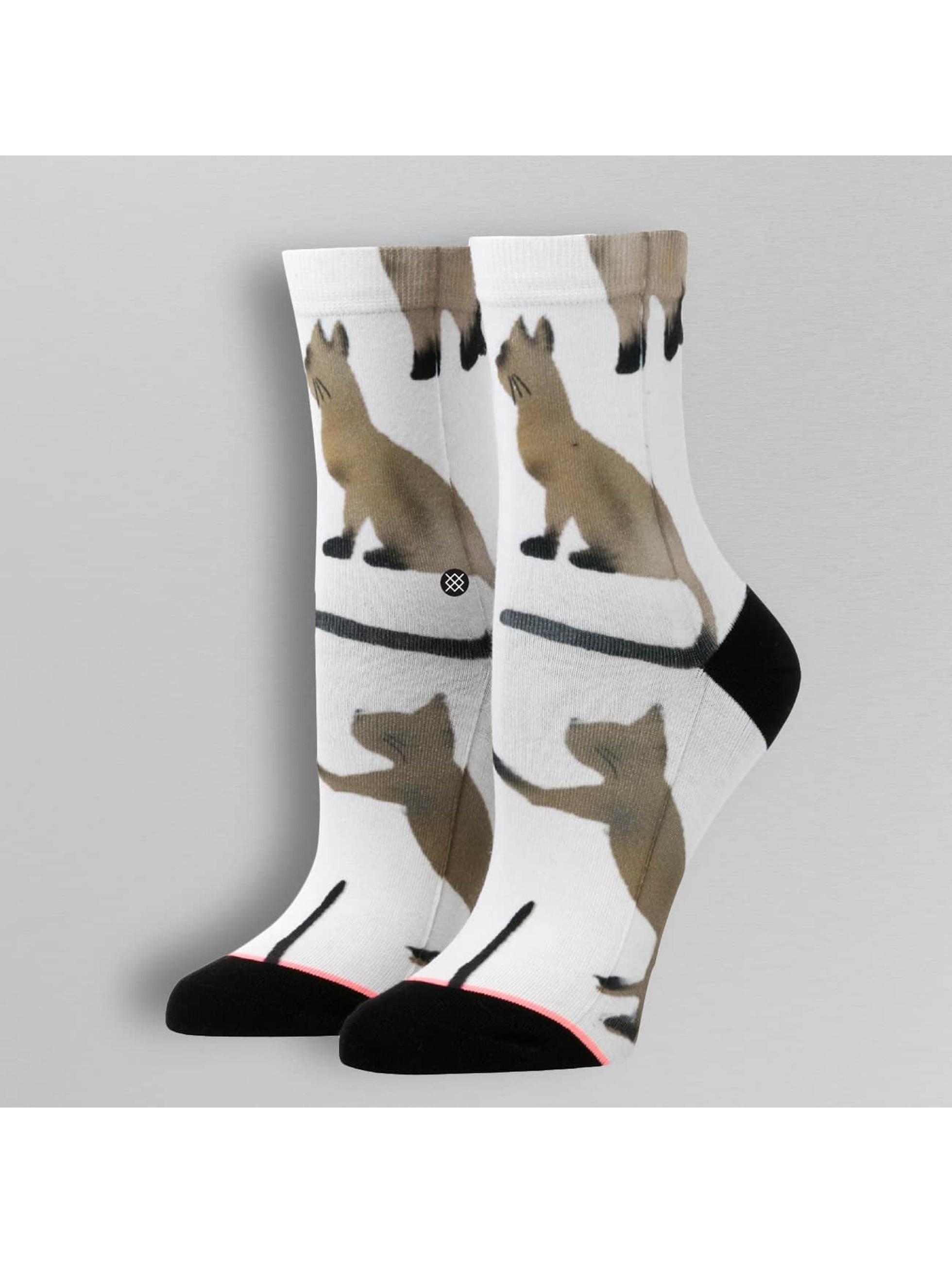 Stance Ponožky Reserve Cats biela