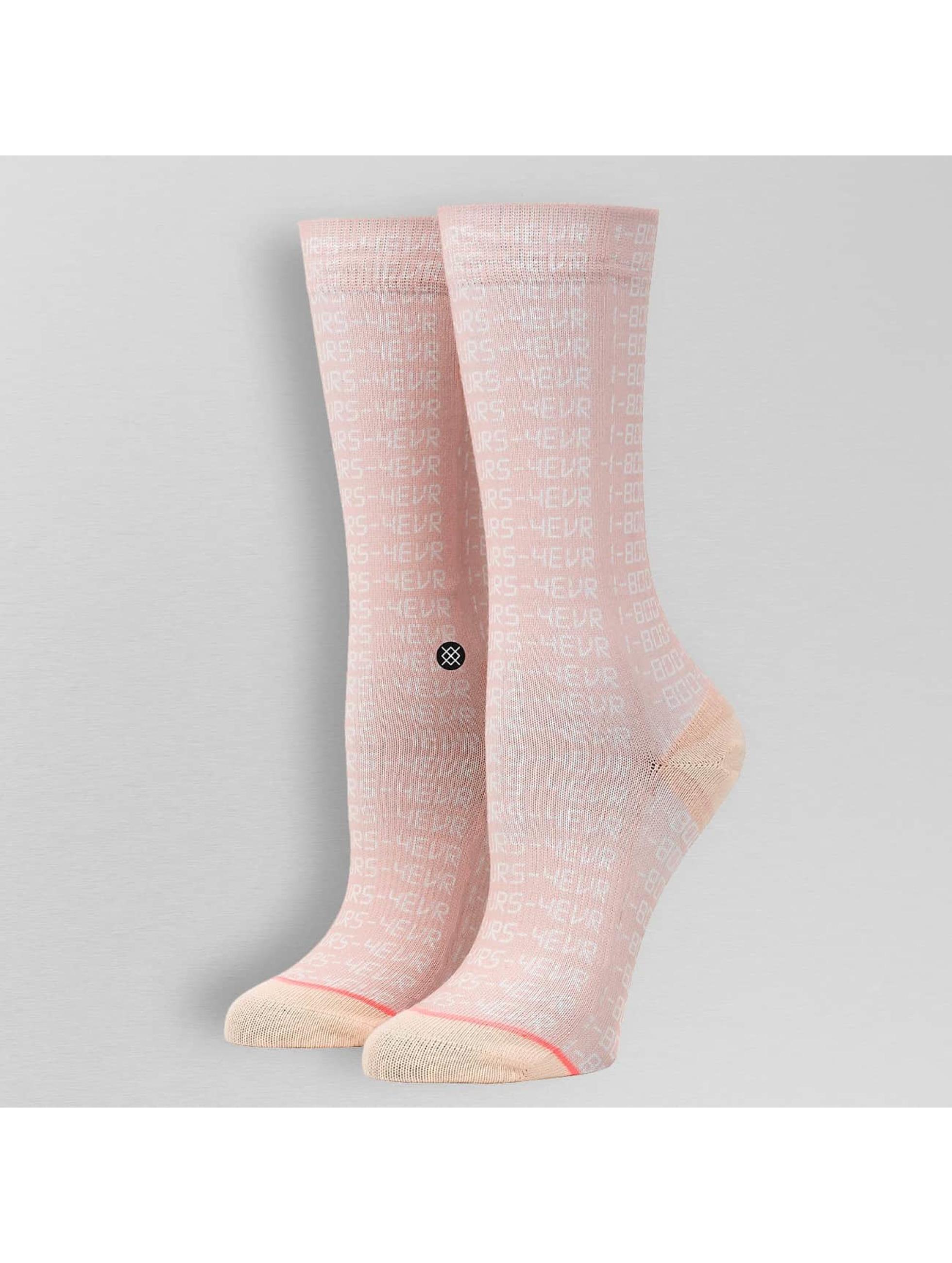 Stance Ponožky Bling-Bling ružová