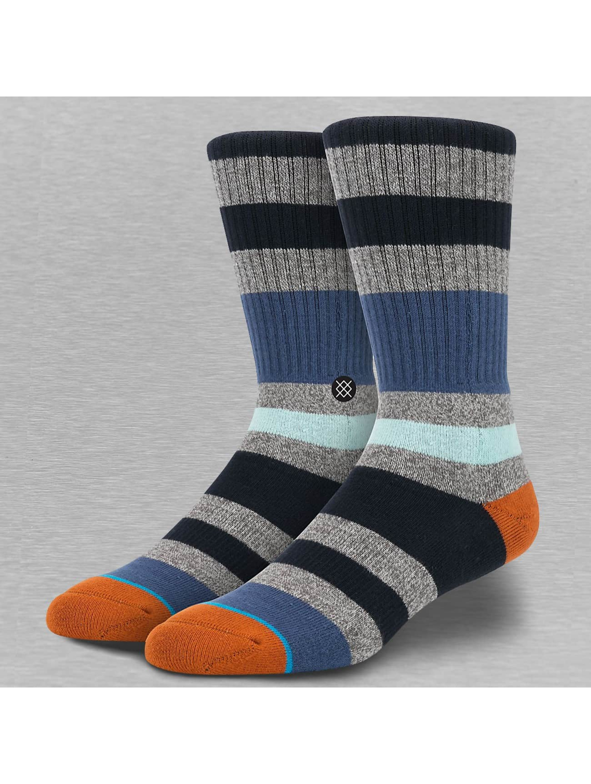 Stance Socken Uncommon Solids Howe blau