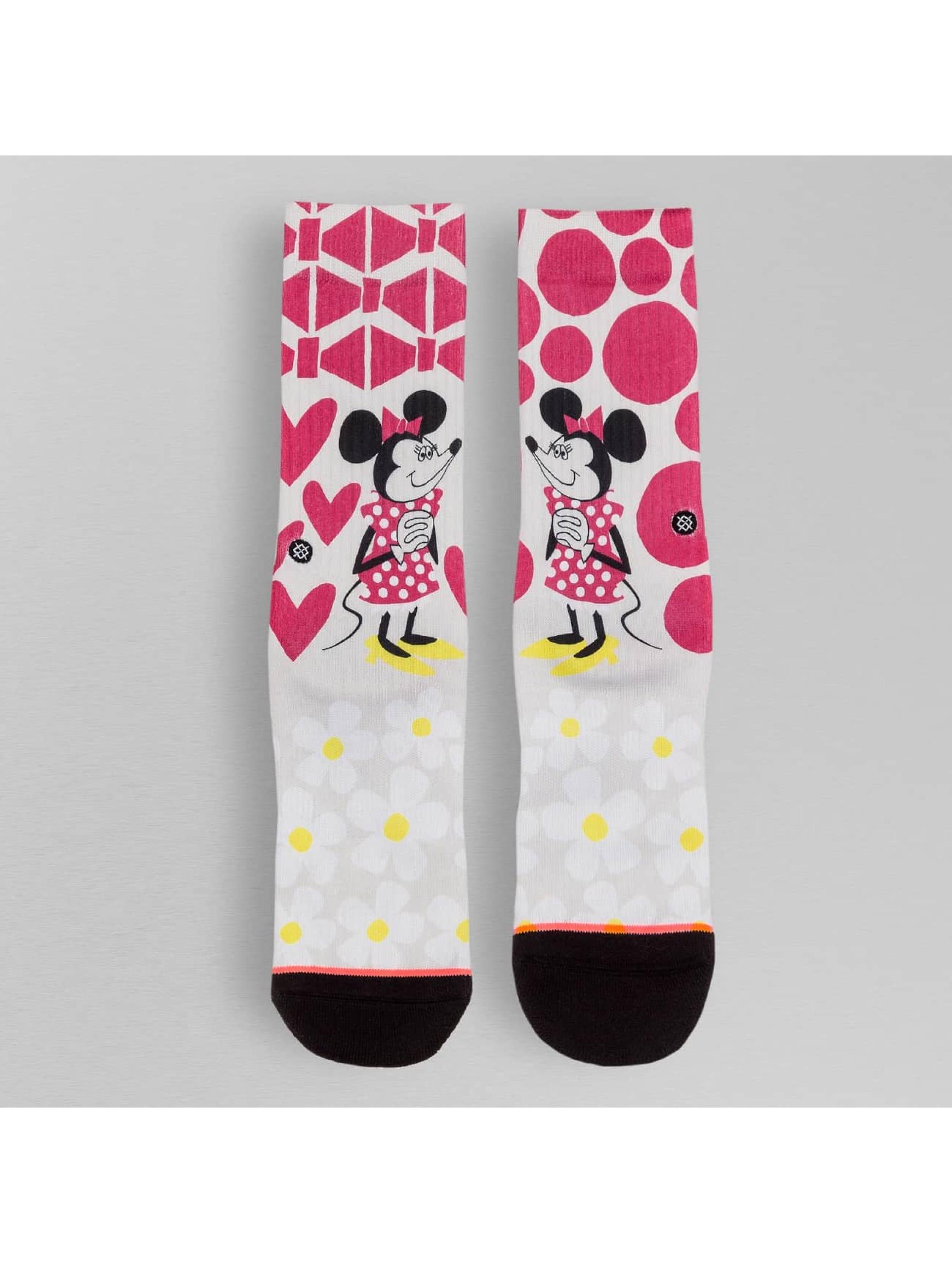 Stance Socks Yusuke Minnie white