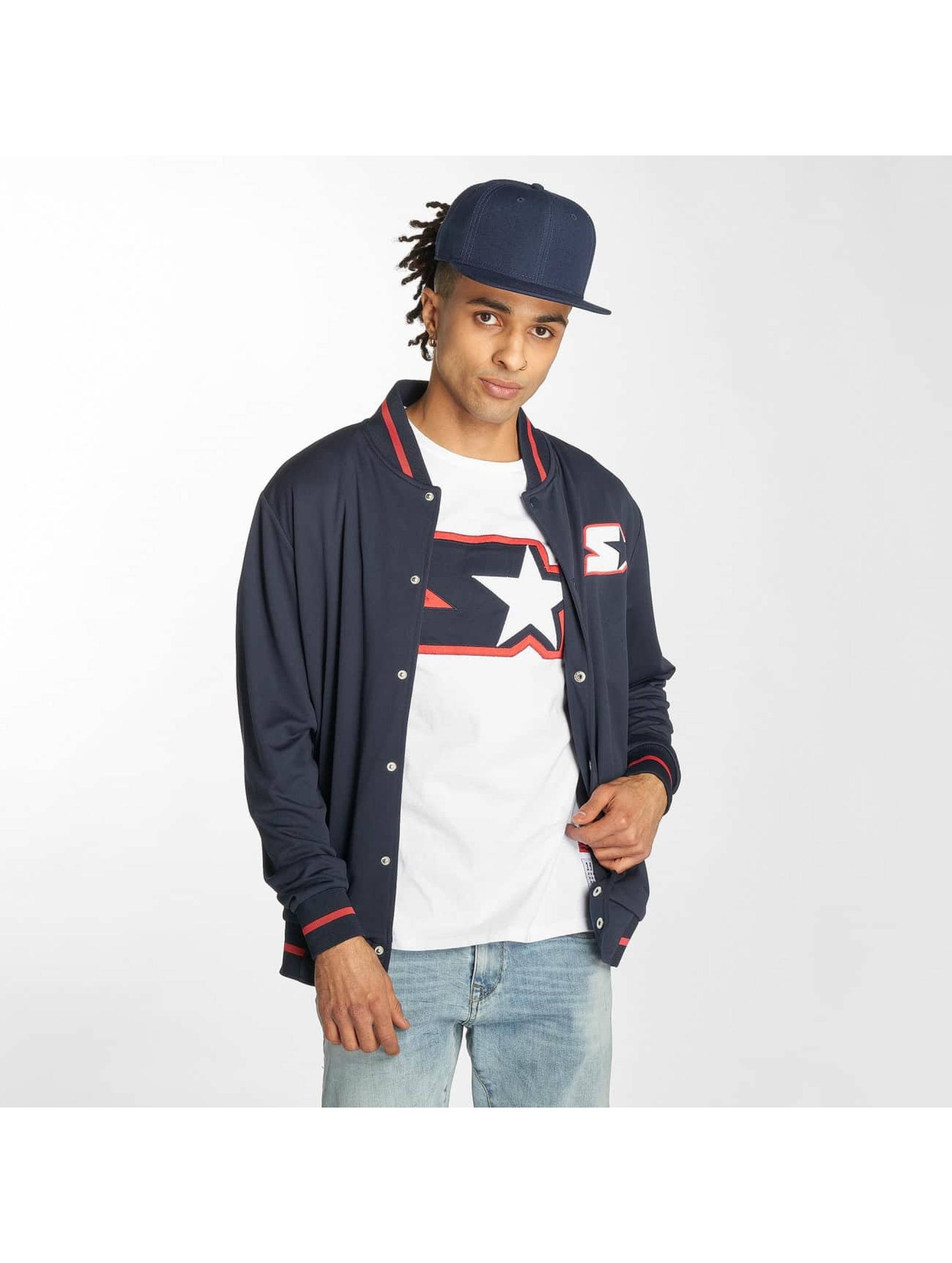 Starter College Jackets Jackson niebieski