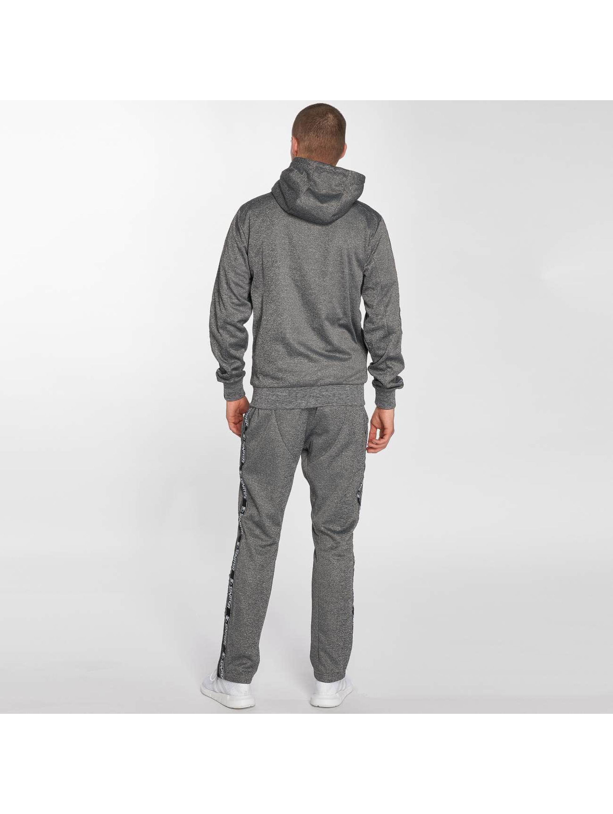 Starter Sweat capuche zippé Peppers Full Zip gris