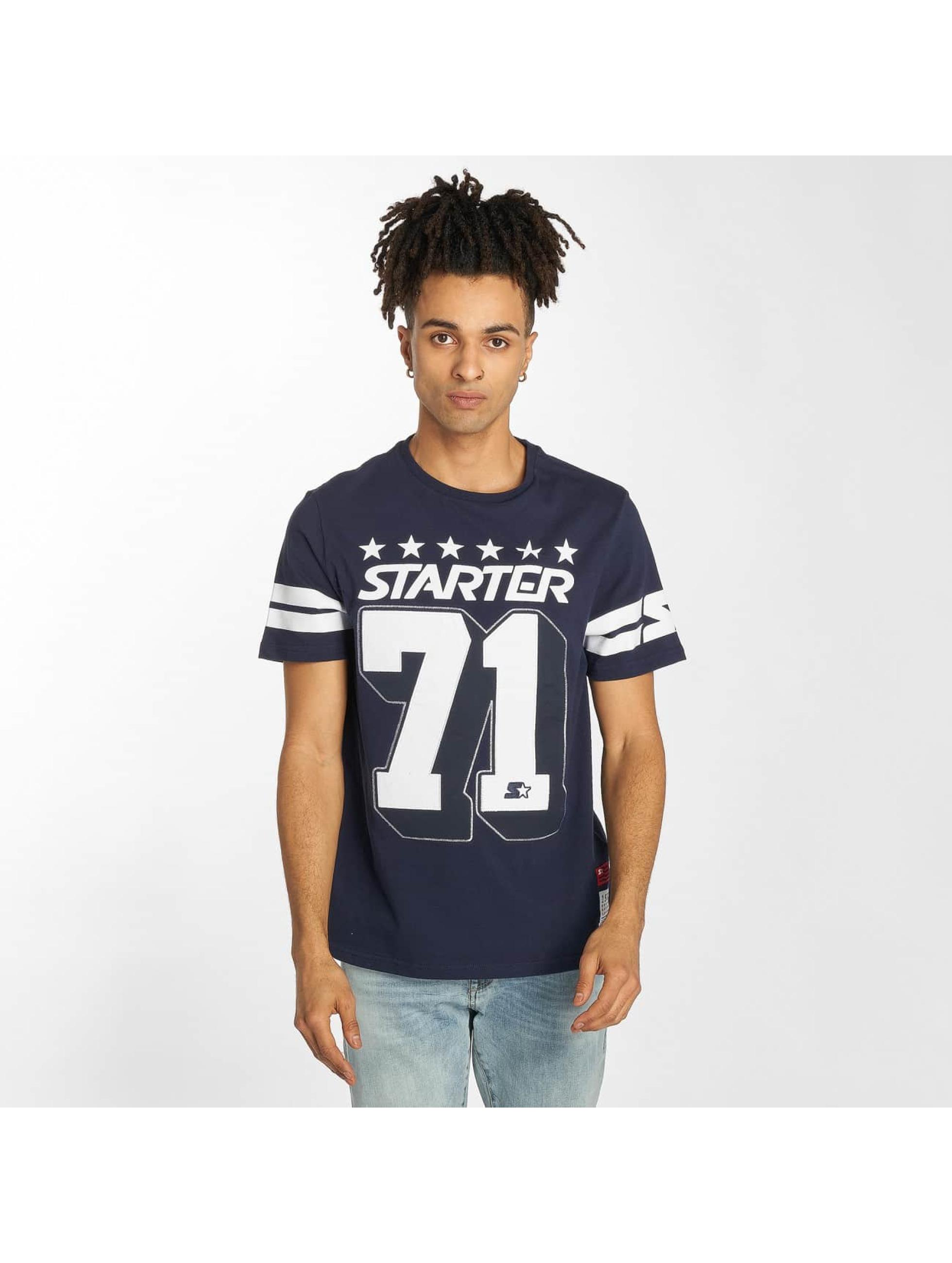 Starter t-shirt Cracraft blauw