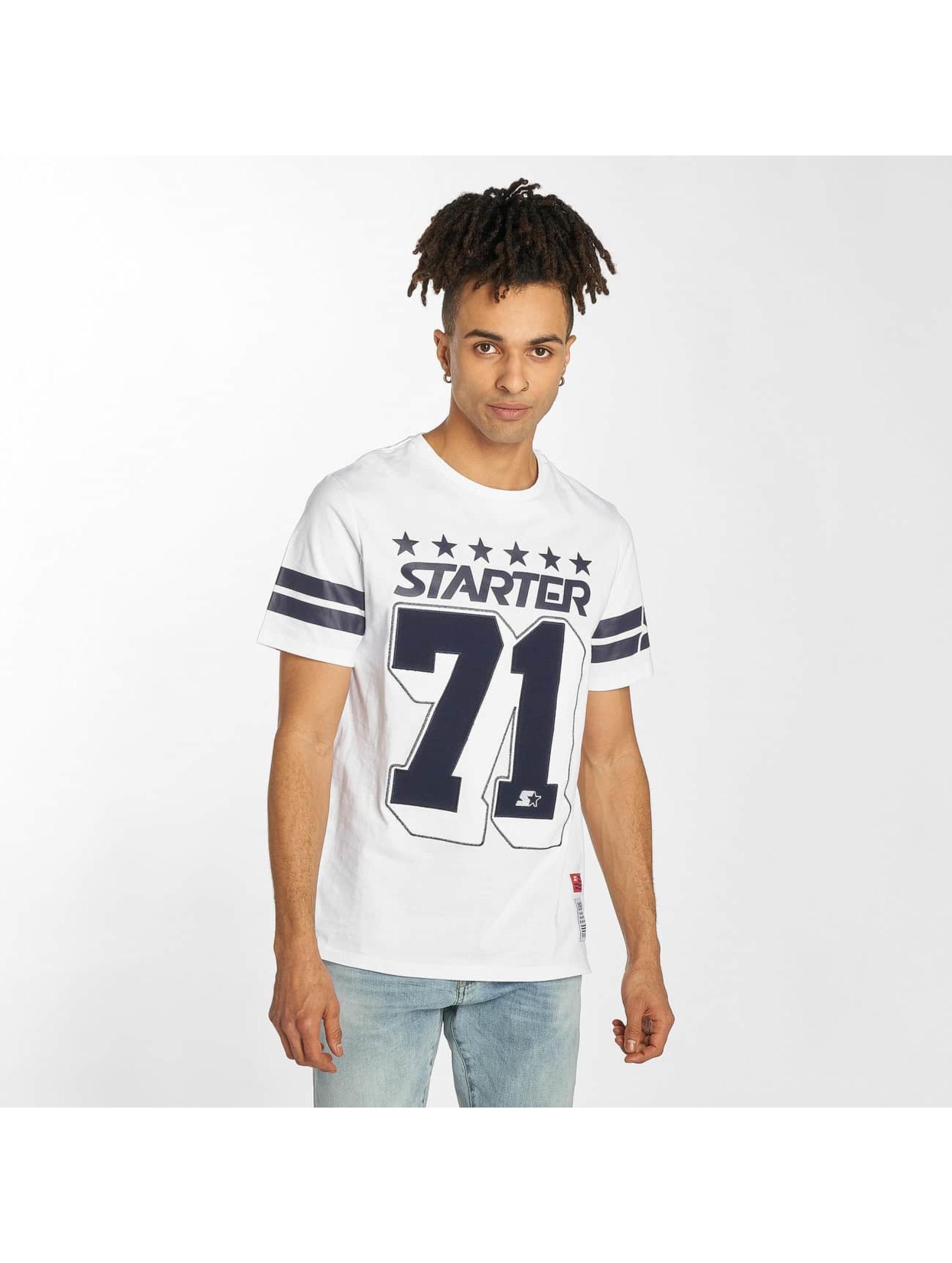 Starter T-Shirt Cracraft weiß