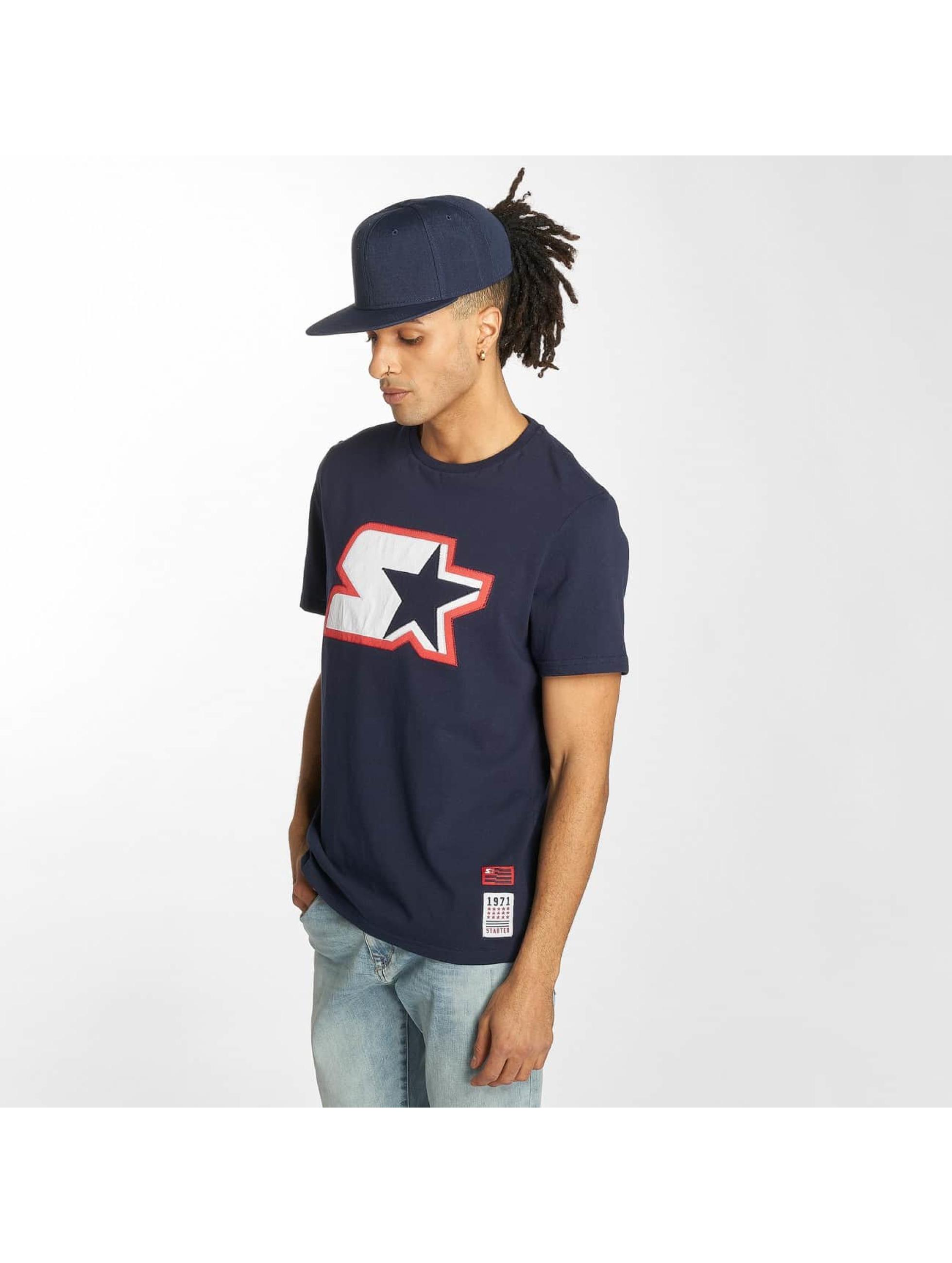 Starter T-shirts Carson blå