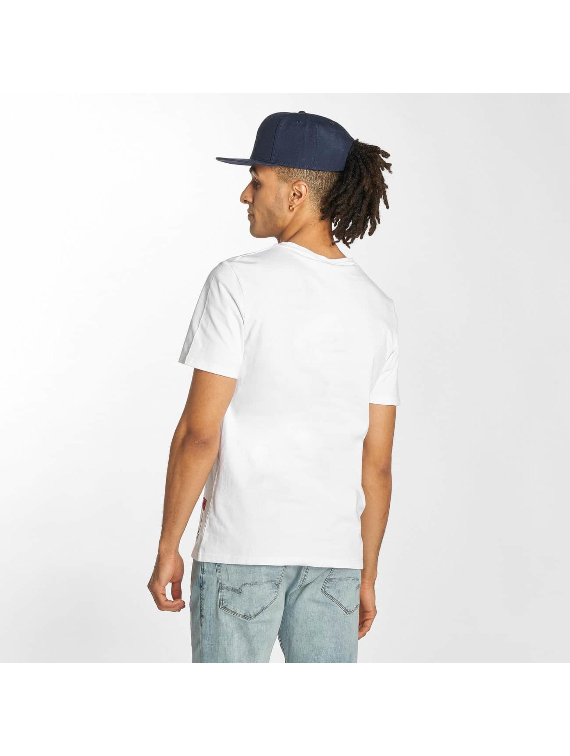 Starter T-shirts Carson hvid