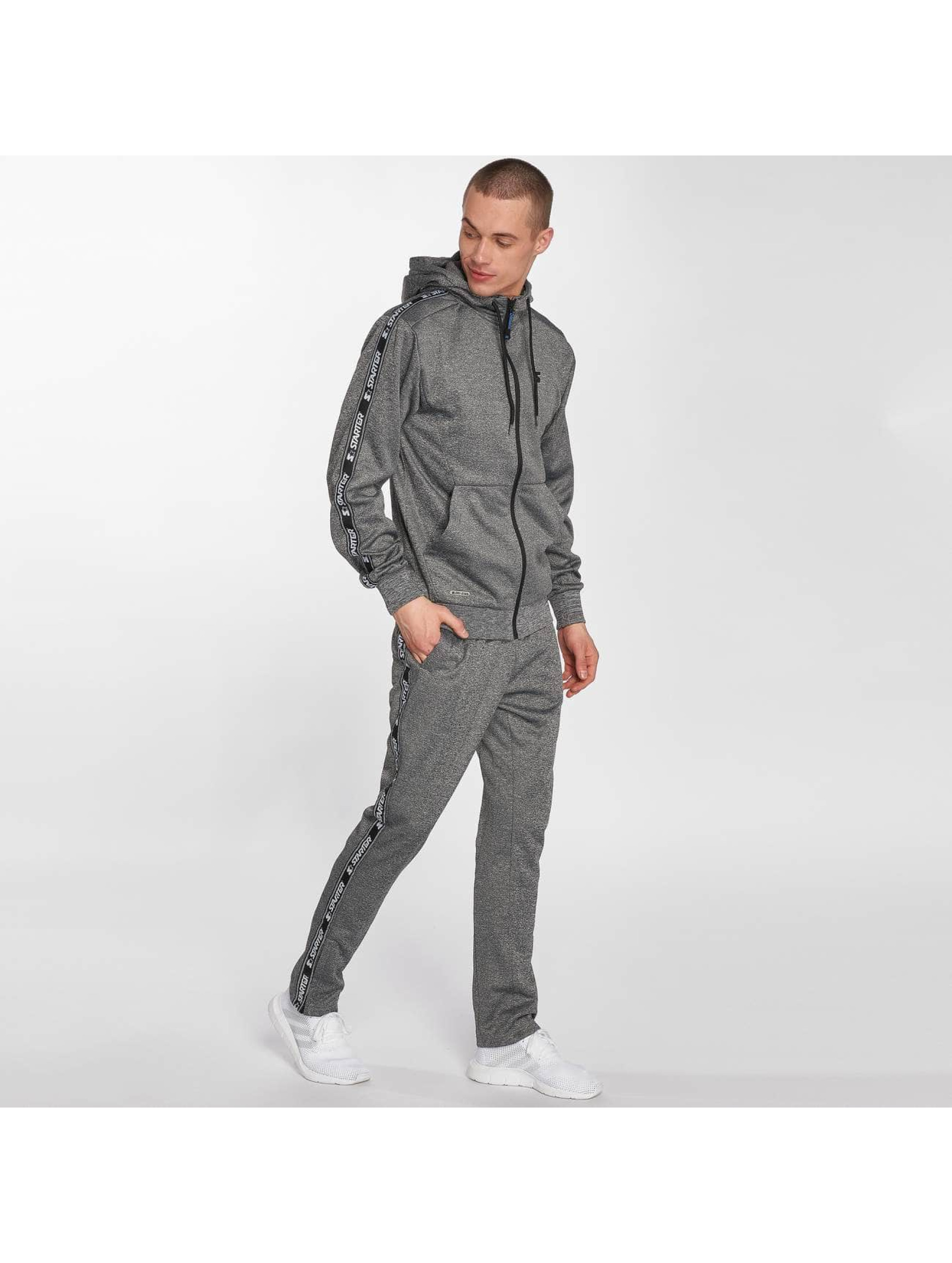 Starter Zip Hoodie Peppers Full Zip grey