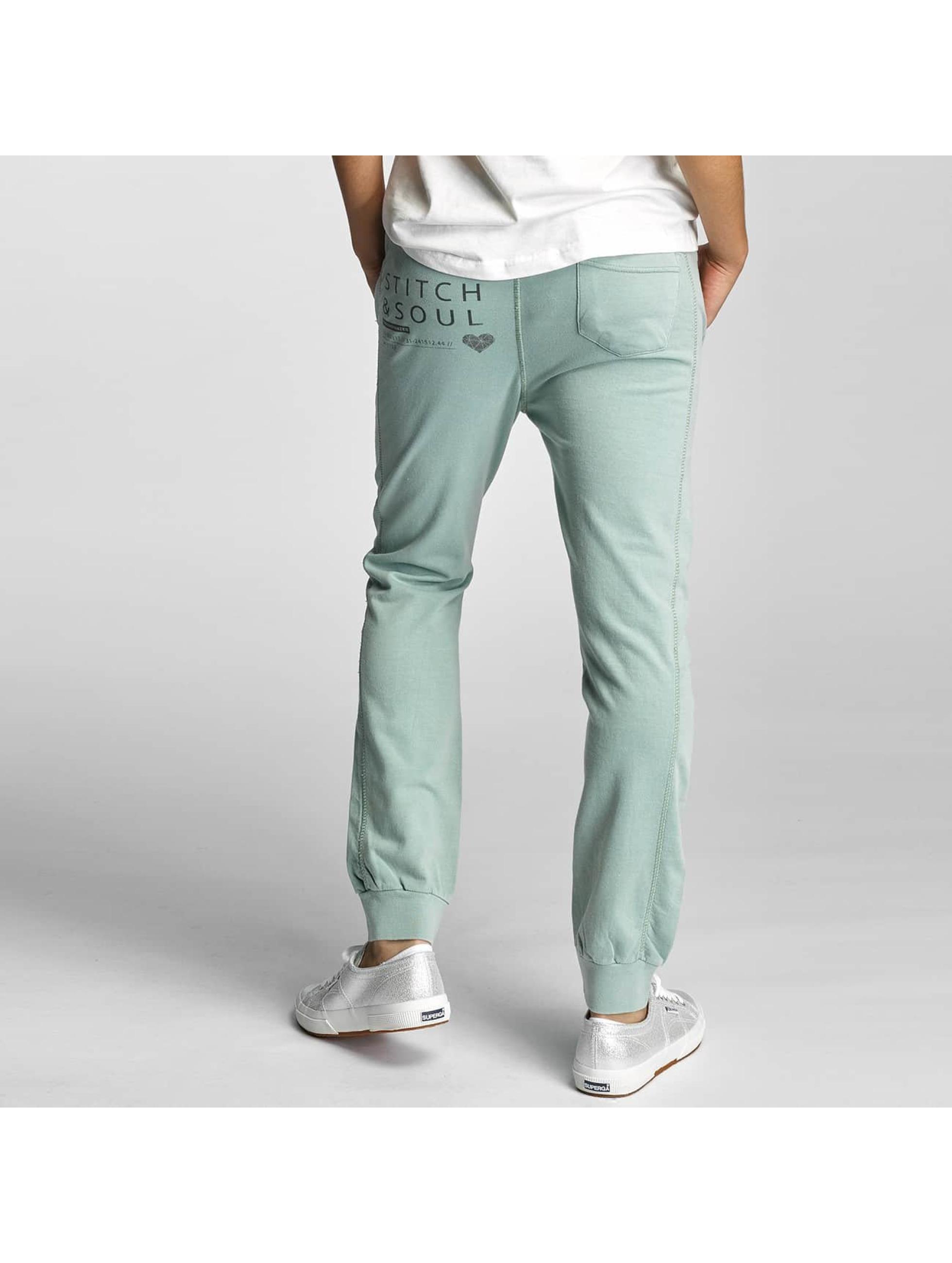 Stitch & Soul Pantalón deportivo Ayda verde