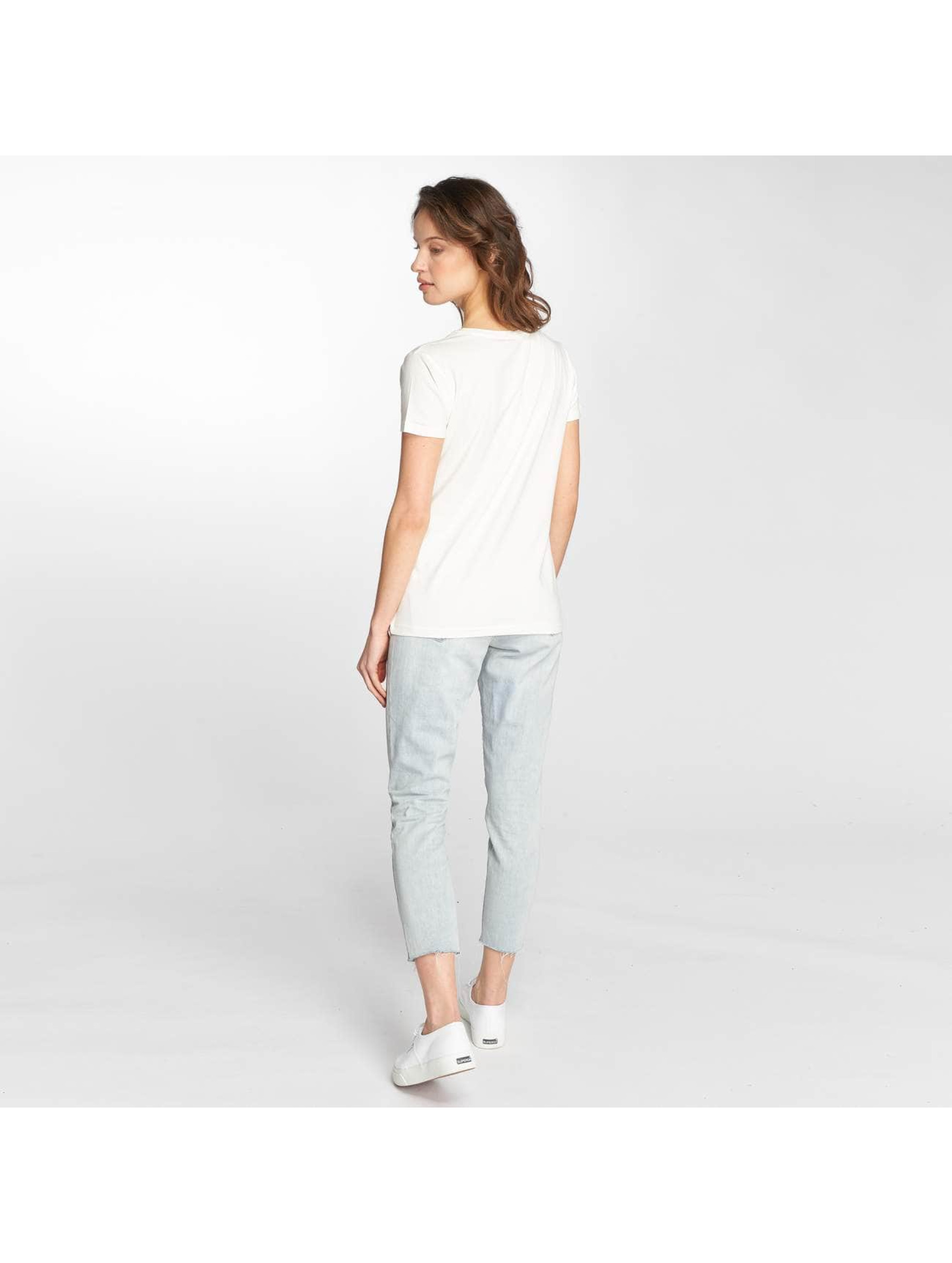 Stitch & Soul T-Shirt Flamingo blanc