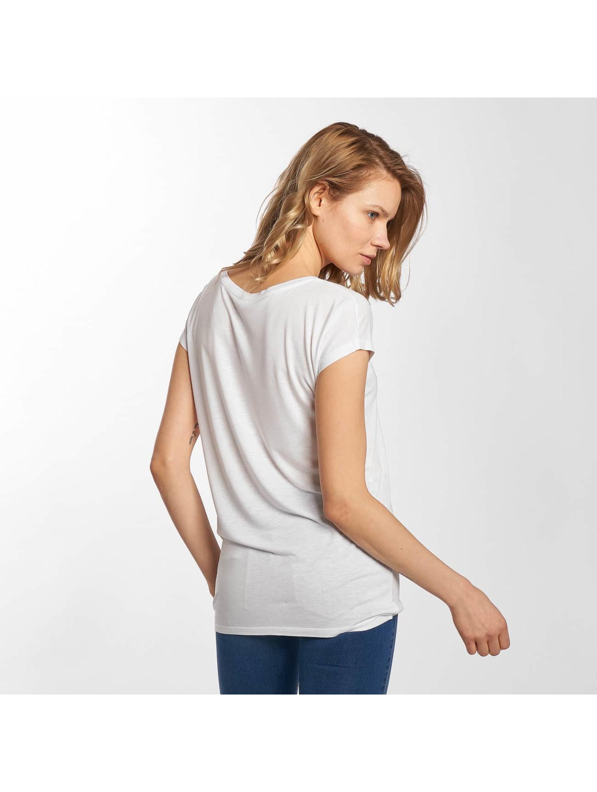 Stitch & Soul T-Shirt Enjoy Love blanc