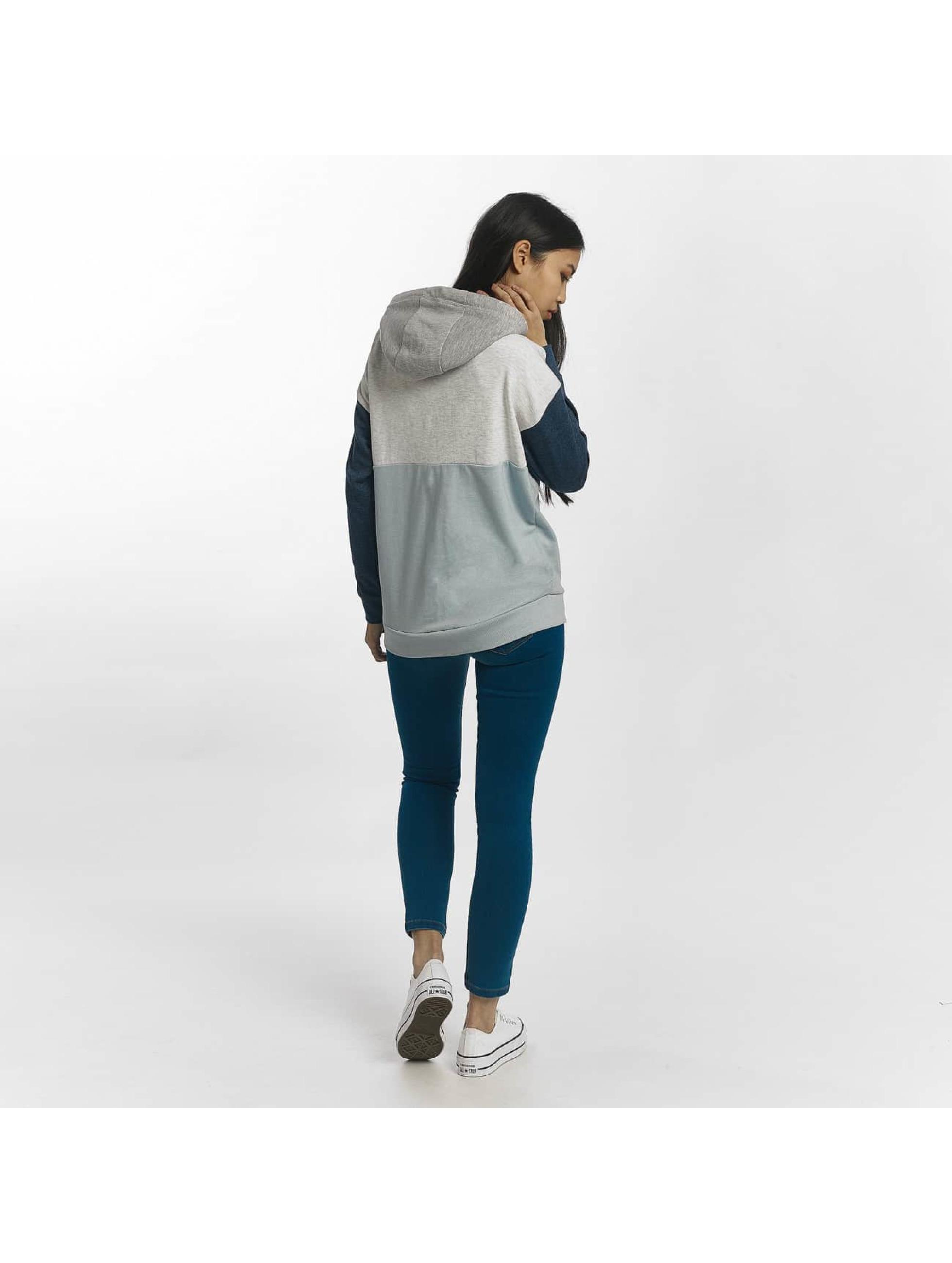 Sublevel Bluzy z kapturem Blocky niebieski