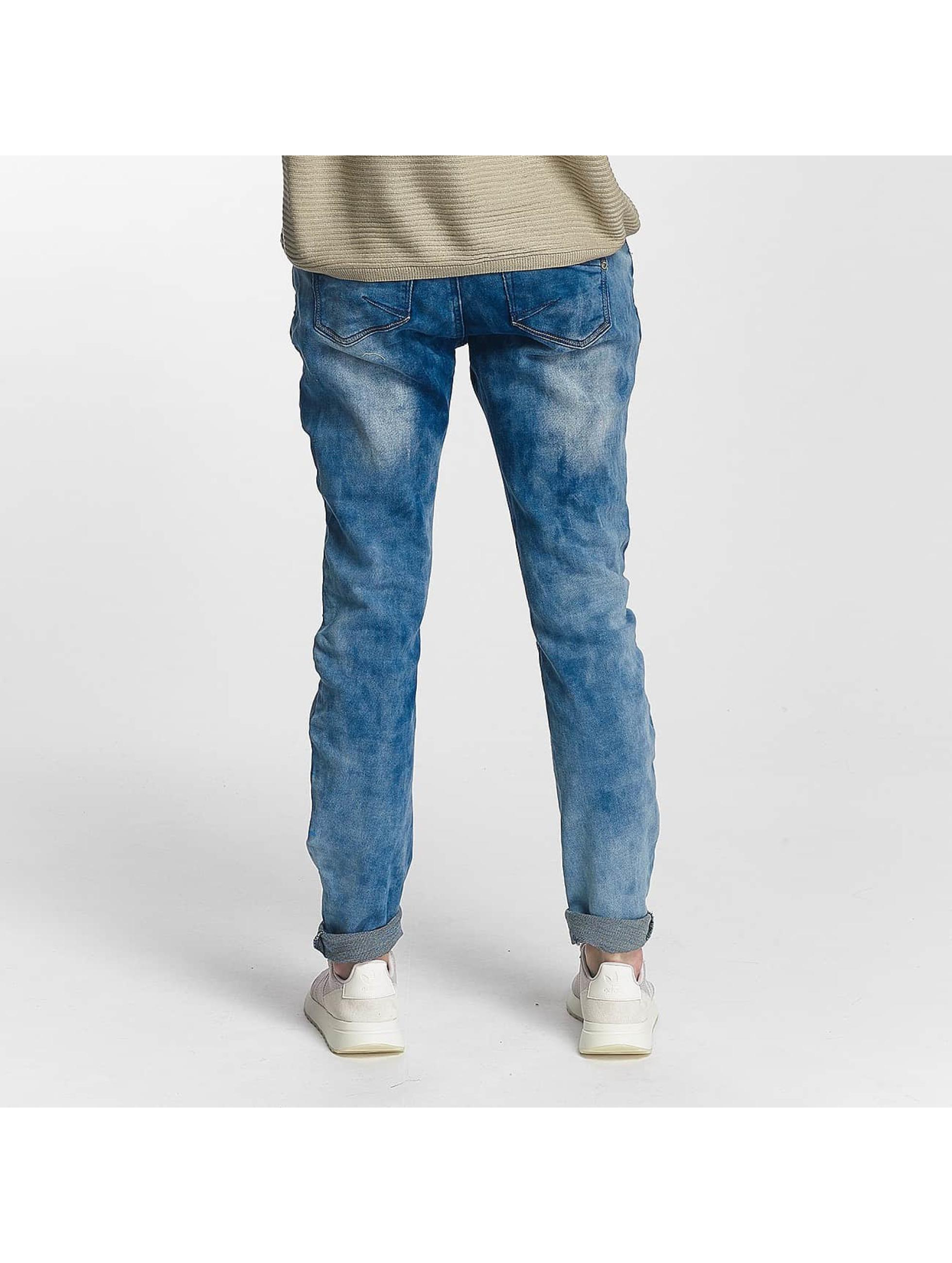 Sublevel Boyfriend Jeans Jogg blue
