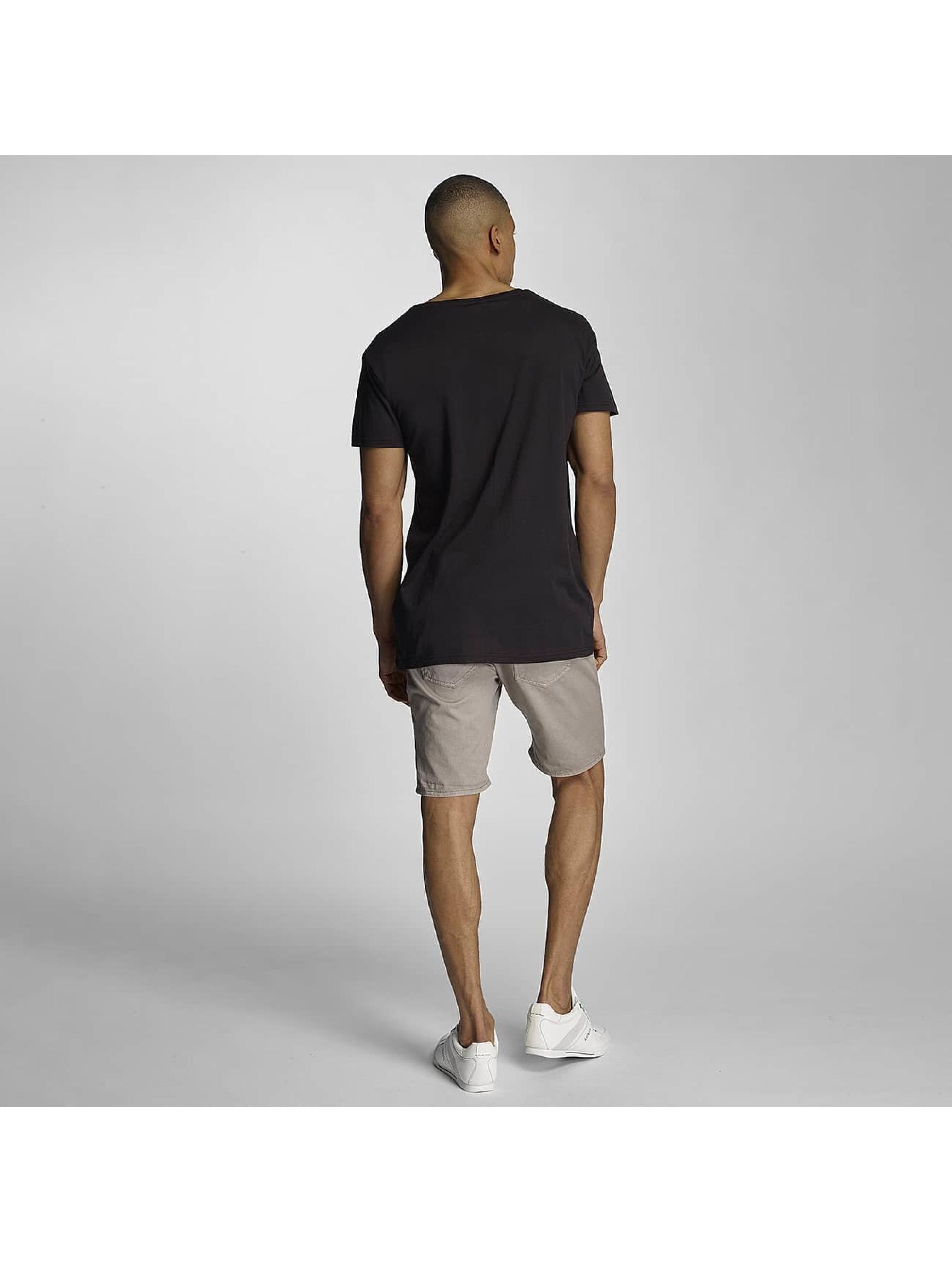 Sublevel Camiseta like a boss negro