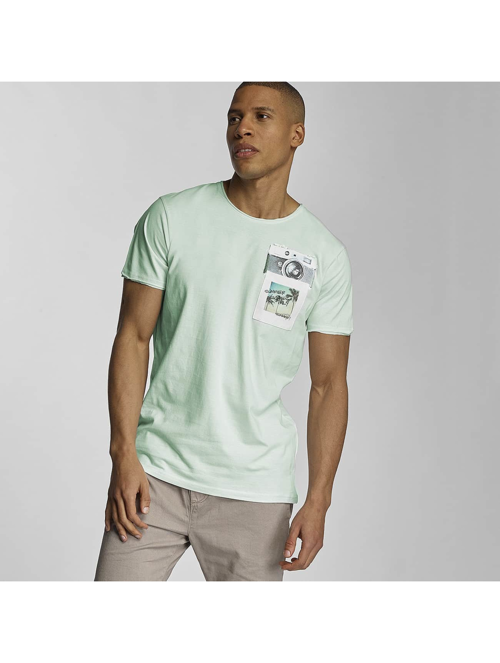 Sublevel Camiseta Summer Vibes Only verde