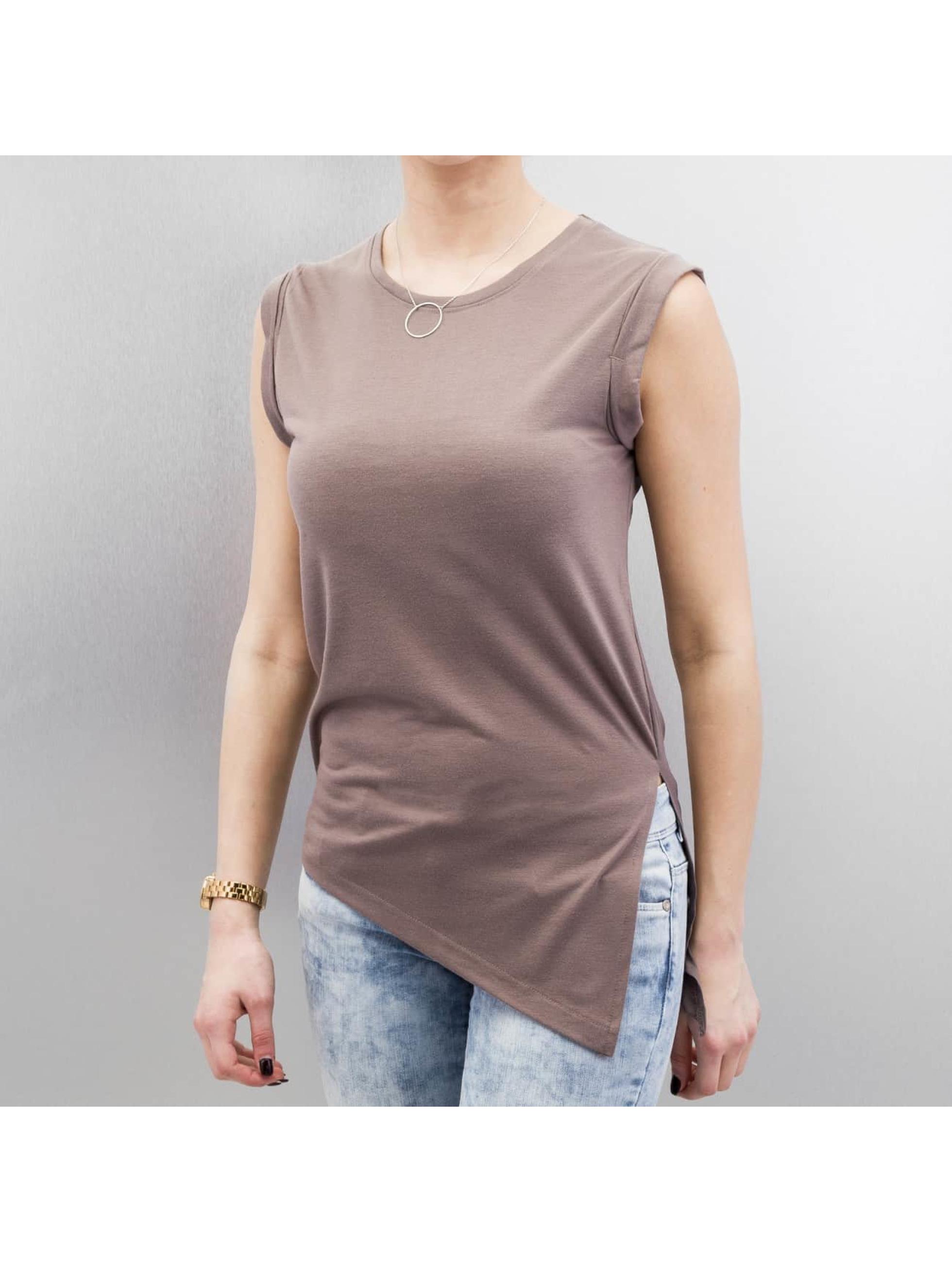 Sublevel Hihattomat paidat Selina ruskea