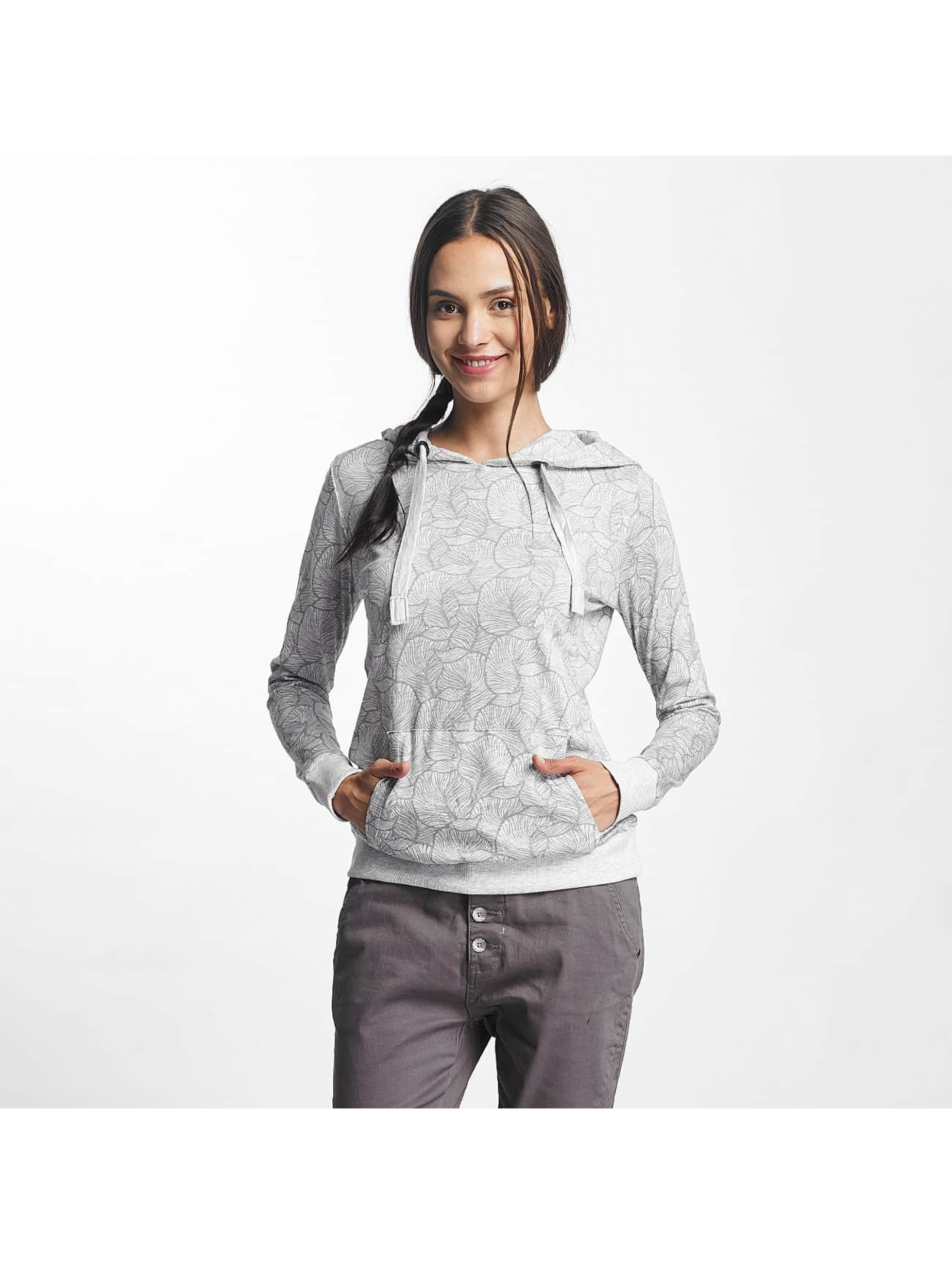 Sublevel Hoodie Leaves grey