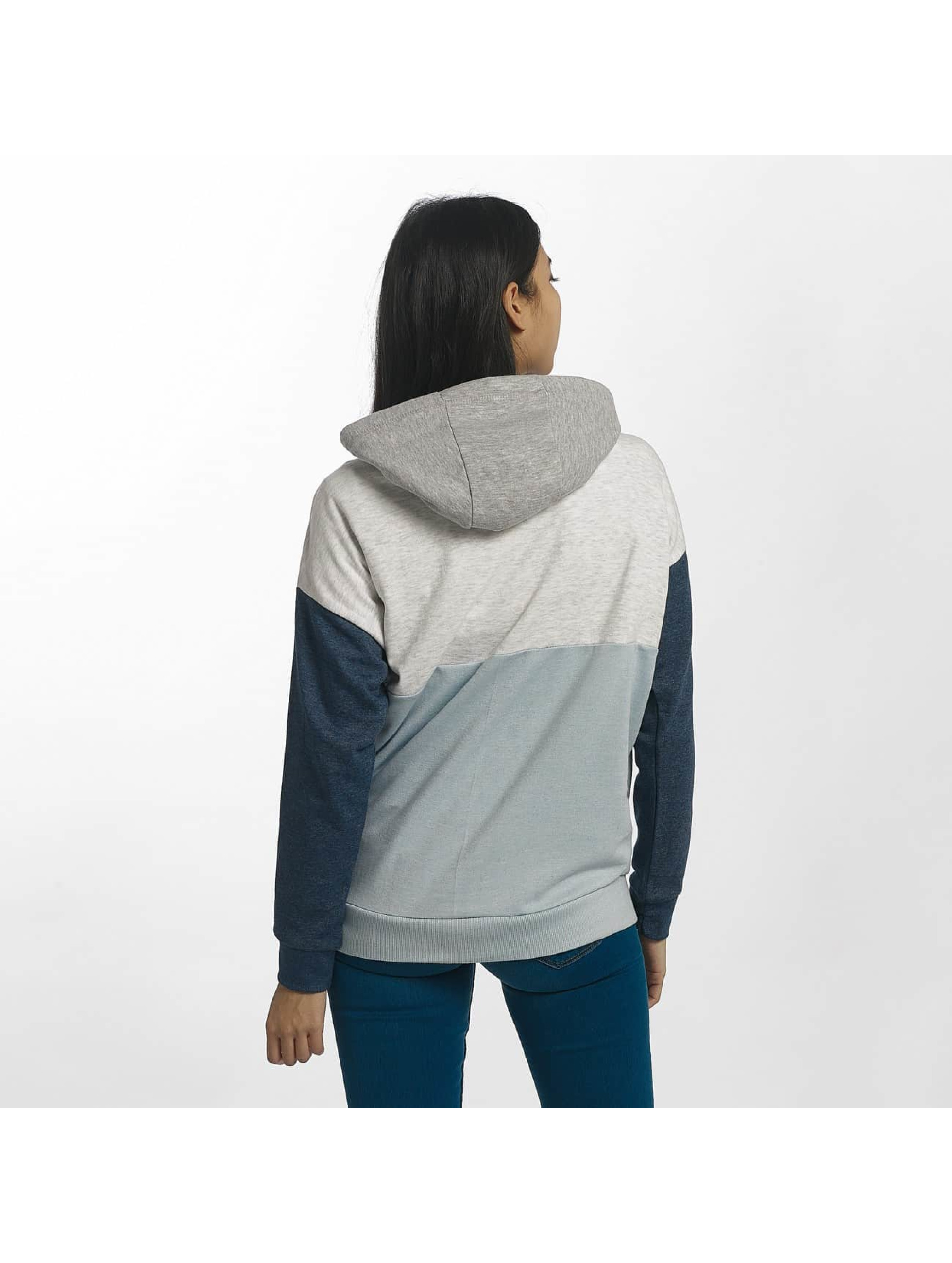 Sublevel Hoody Blocky blau
