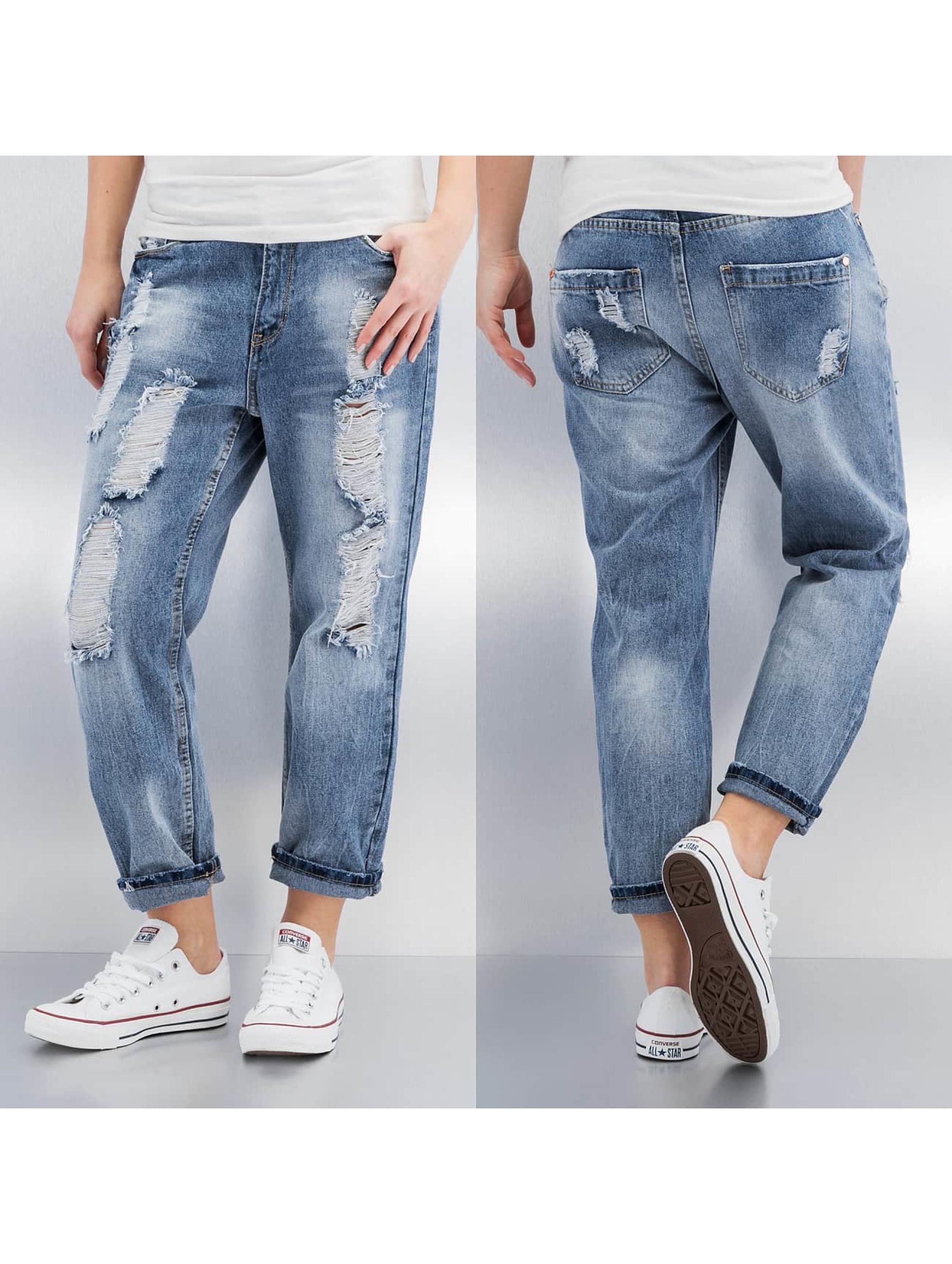 Sublevel Jean / Jeans Boyfriend Sofie en bleu