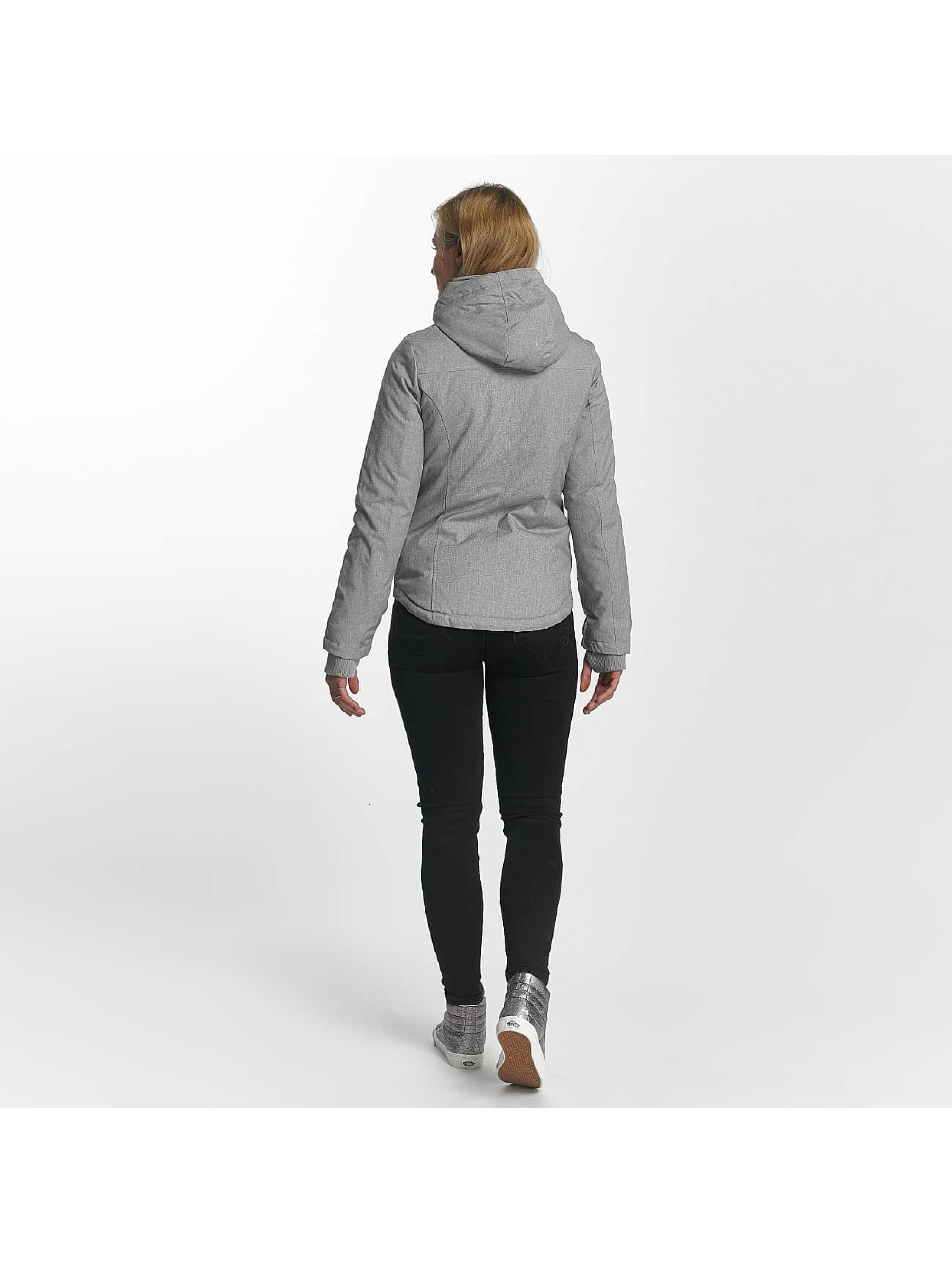 Sublevel Manteau hiver Jacket Pencil gris