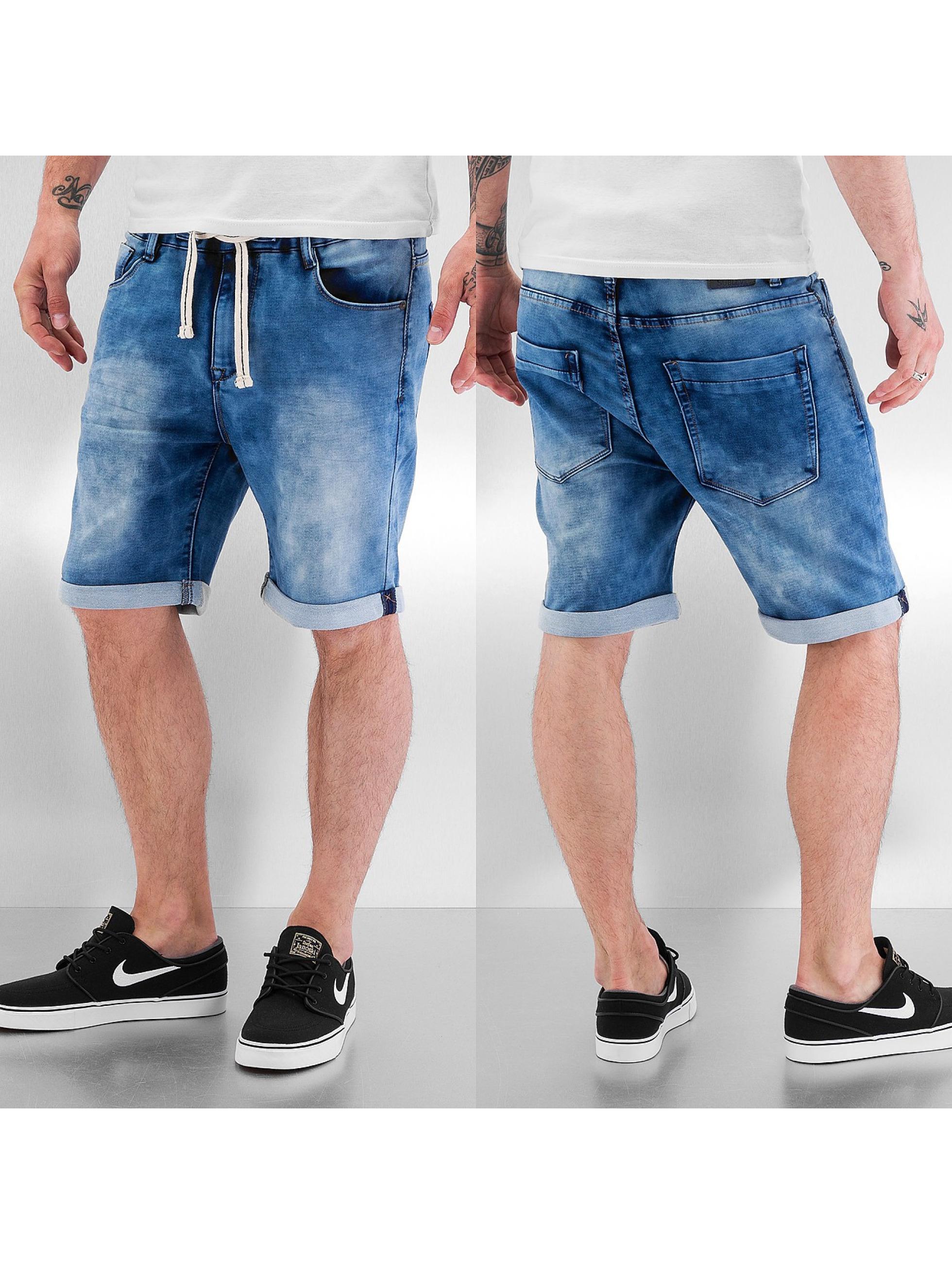 Sublevel Pantalon / Shorts Jogg Denim Jeans en bleu