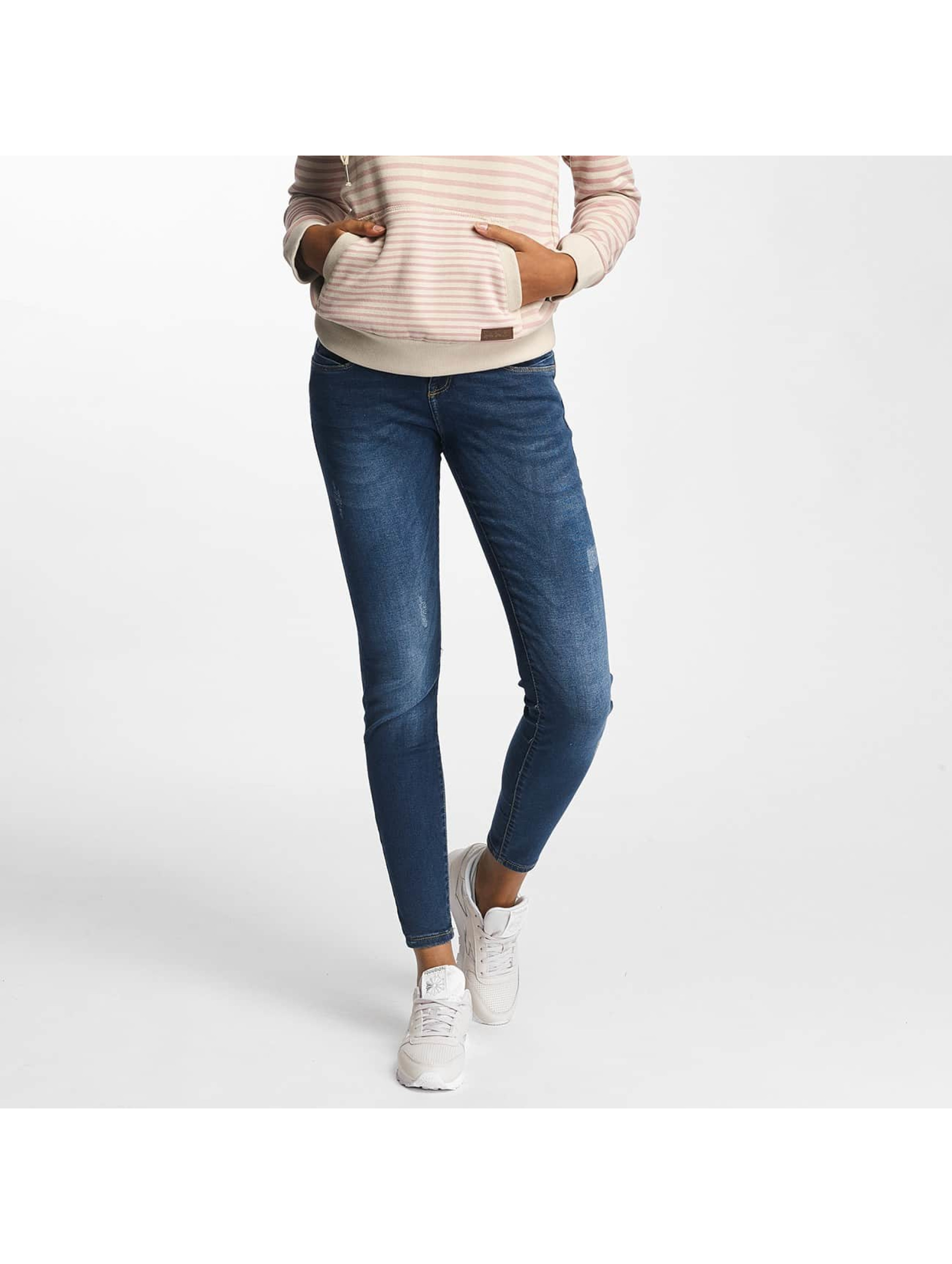 Sublevel Skinny Jeans Palila Super Stretch niebieski