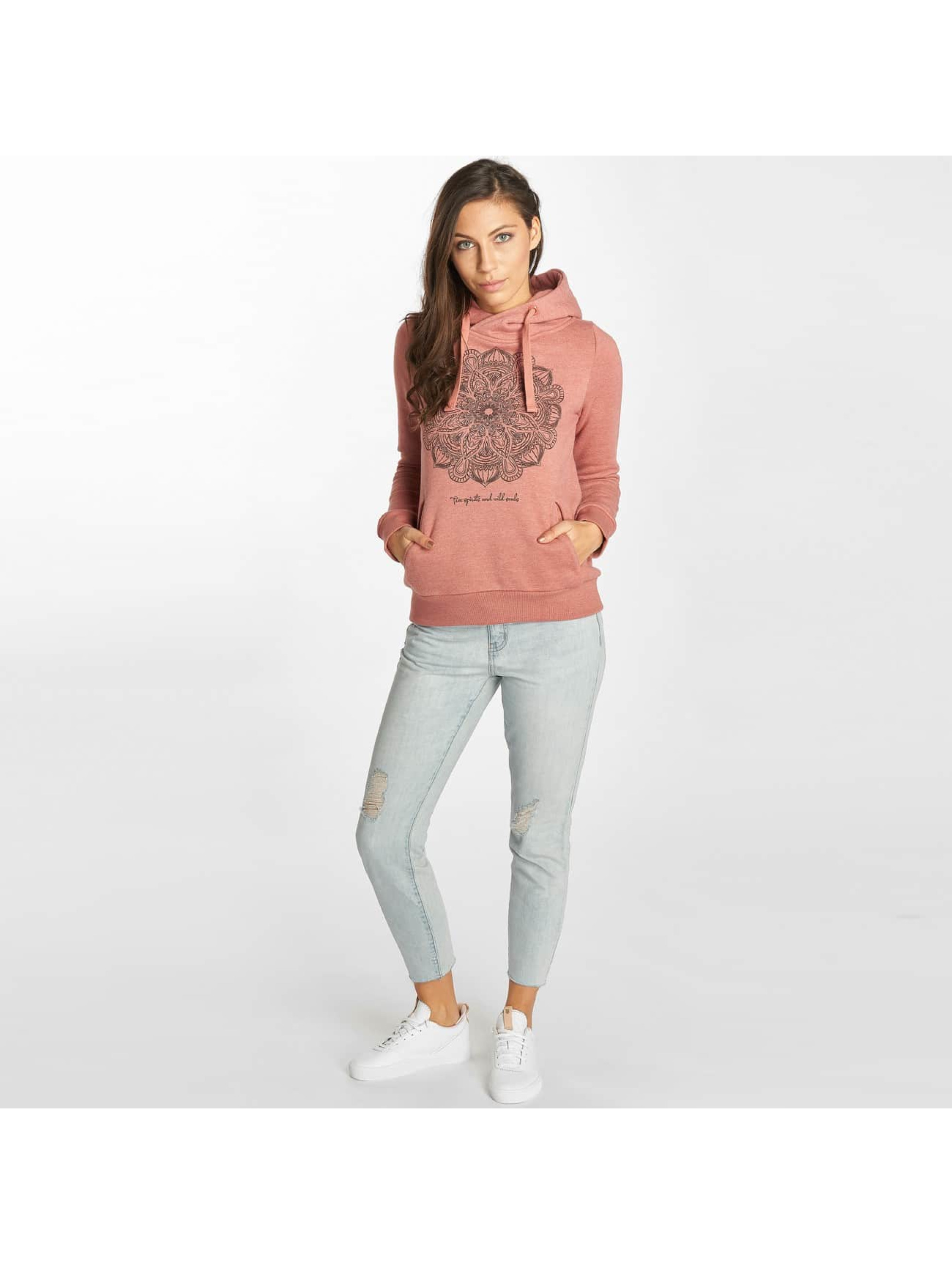 Sublevel Sweat capuche Mandala rouge
