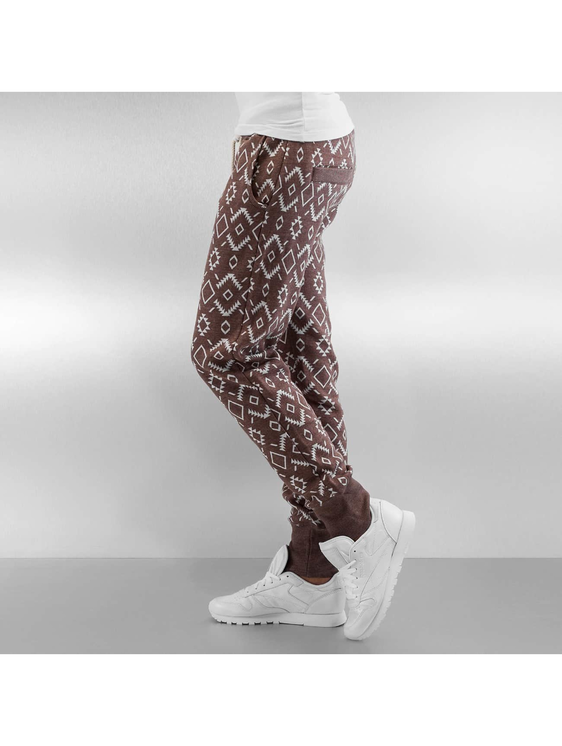 Sublevel Sweat Pant Square brown