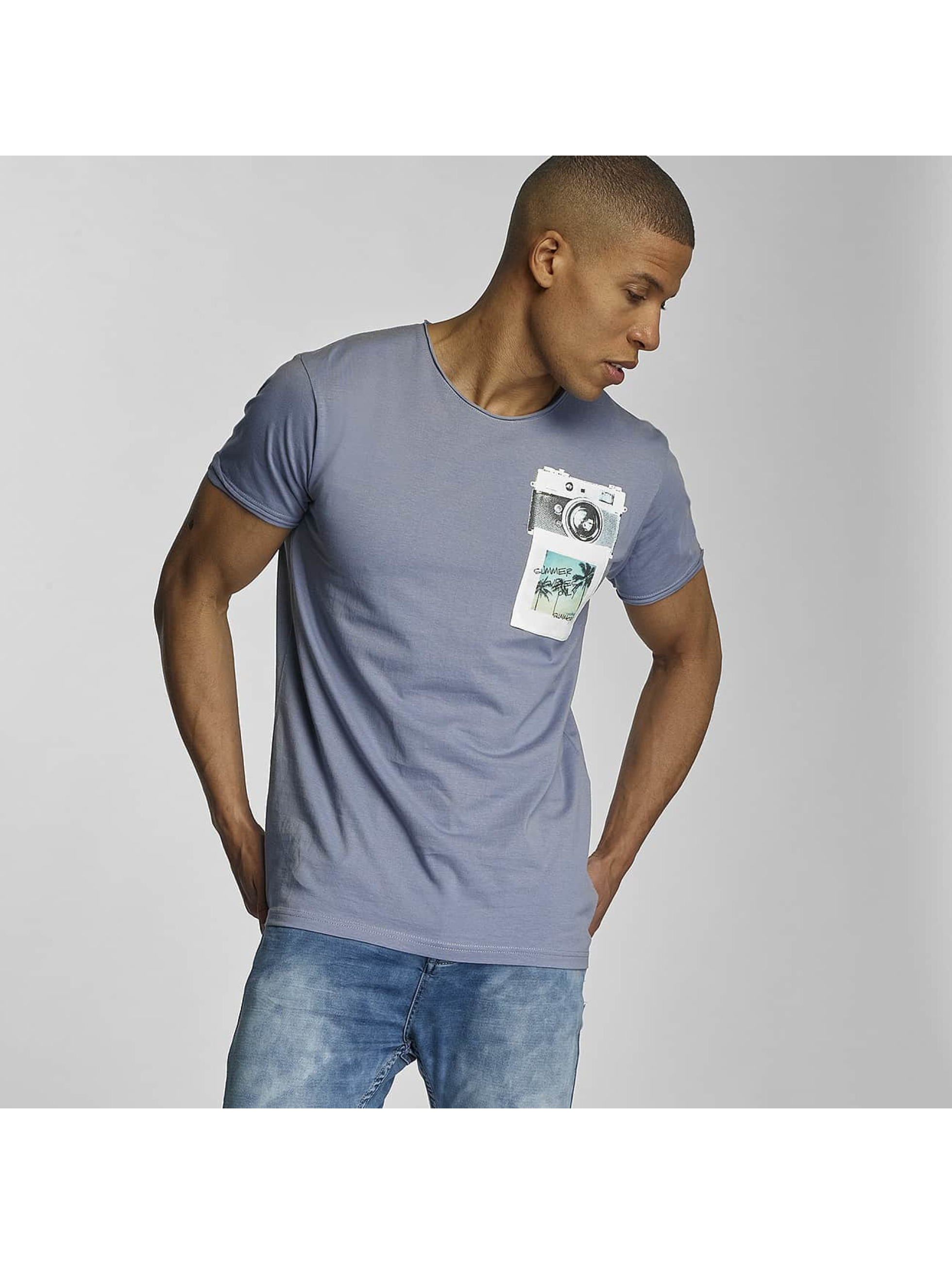 Sublevel T-Shirt Summer Vibes Only blau
