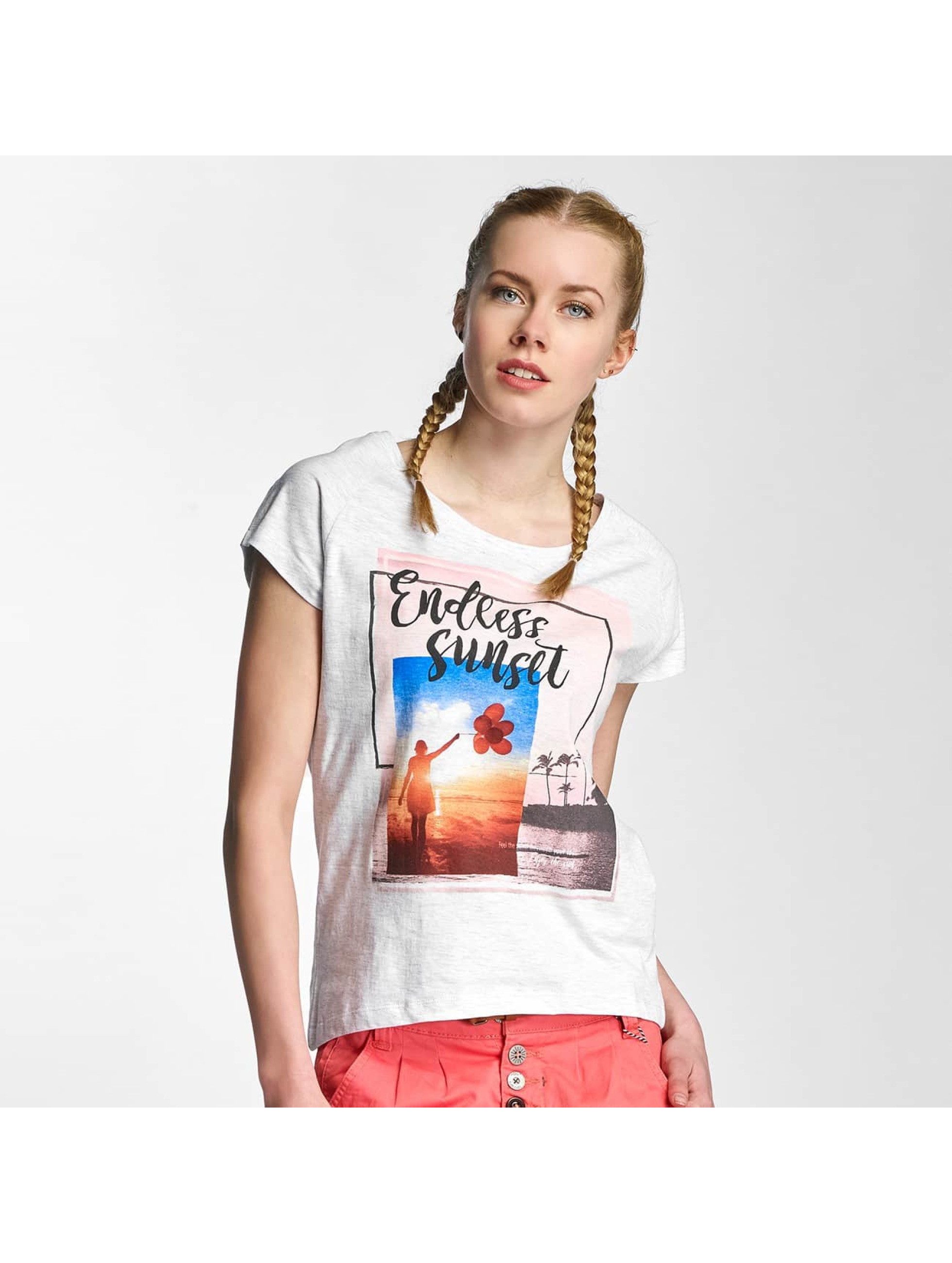 Sublevel T-Shirt Endless Sunset grau