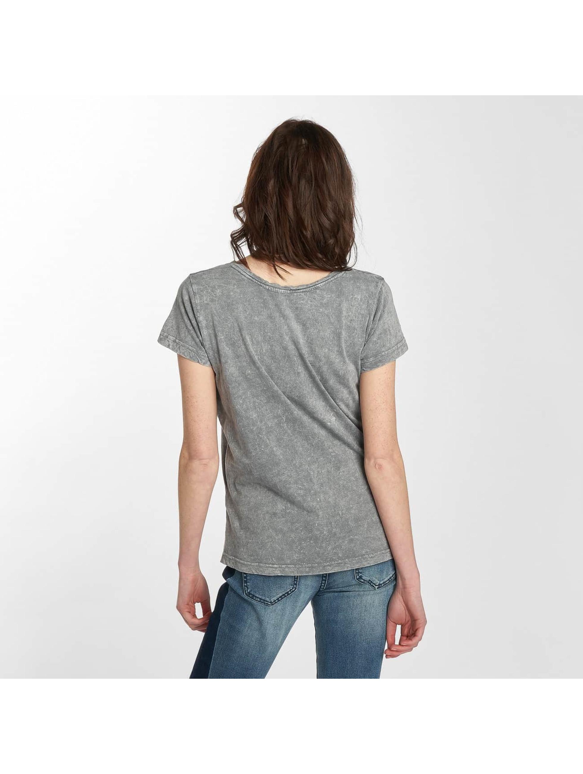 Sublevel T-Shirt Bonjour gris