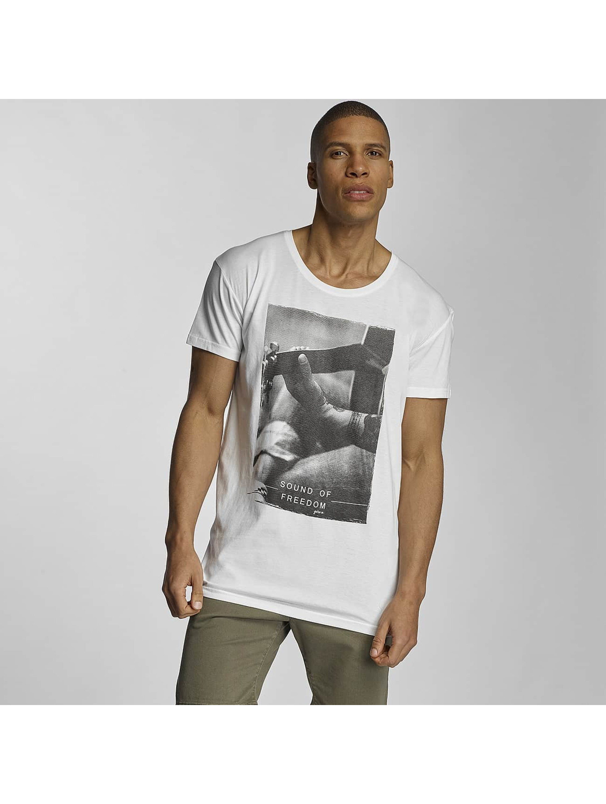 Sublevel T-Shirt Sound of Freedom weiß
