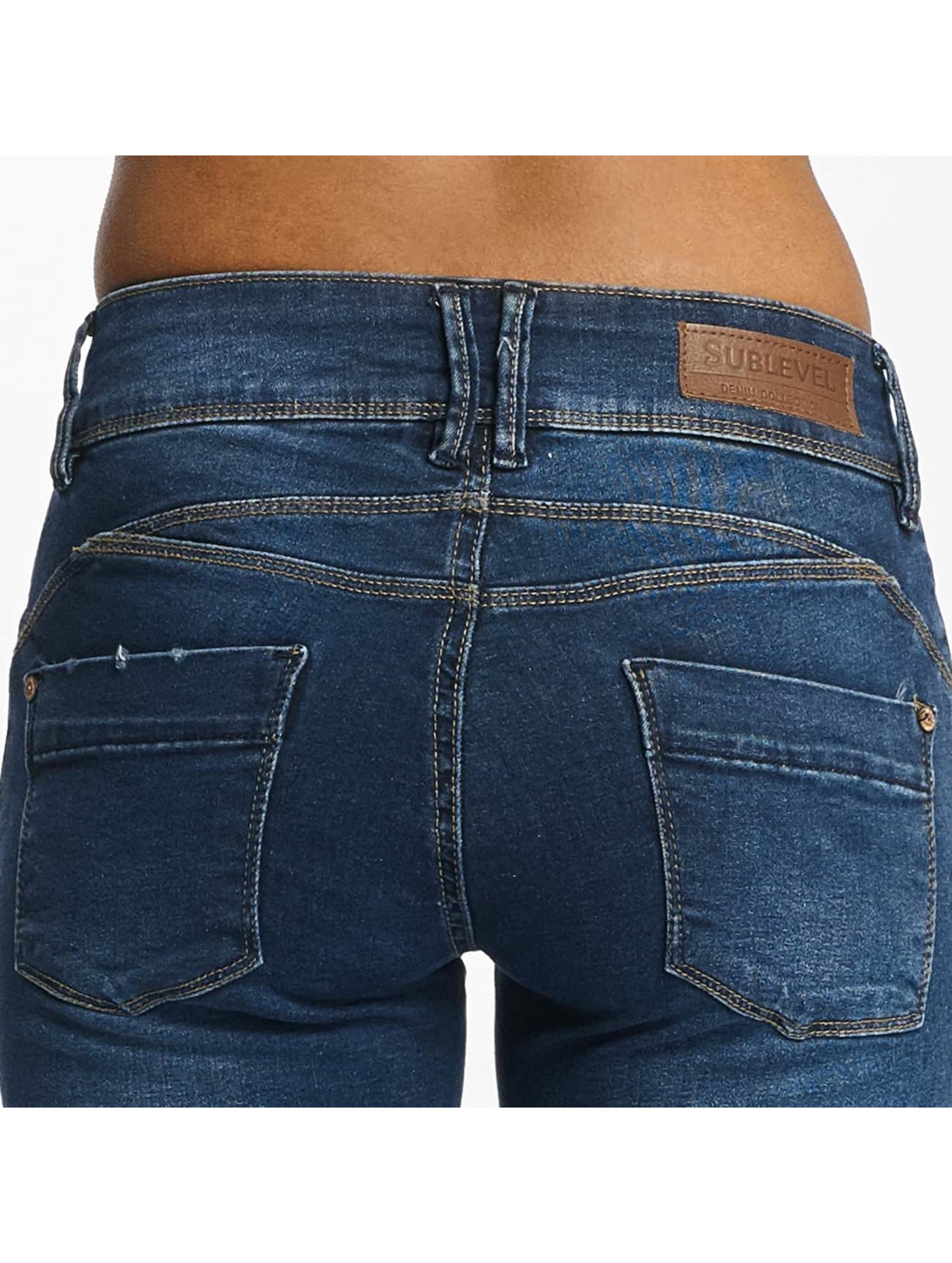 Sublevel Tynne bukser Palila Super Stretch blå