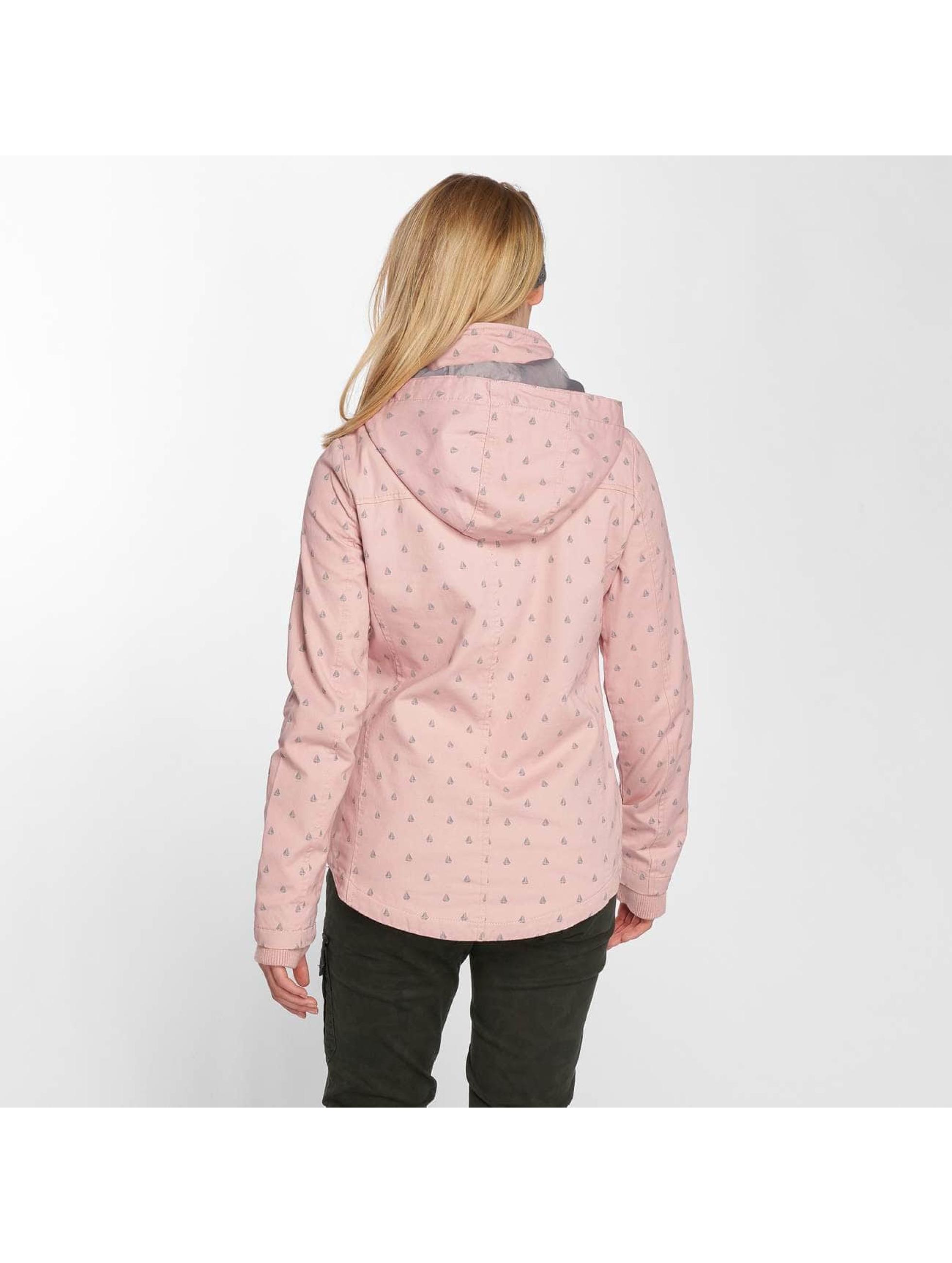 Sublevel Veste mi-saison légère Hooded rose