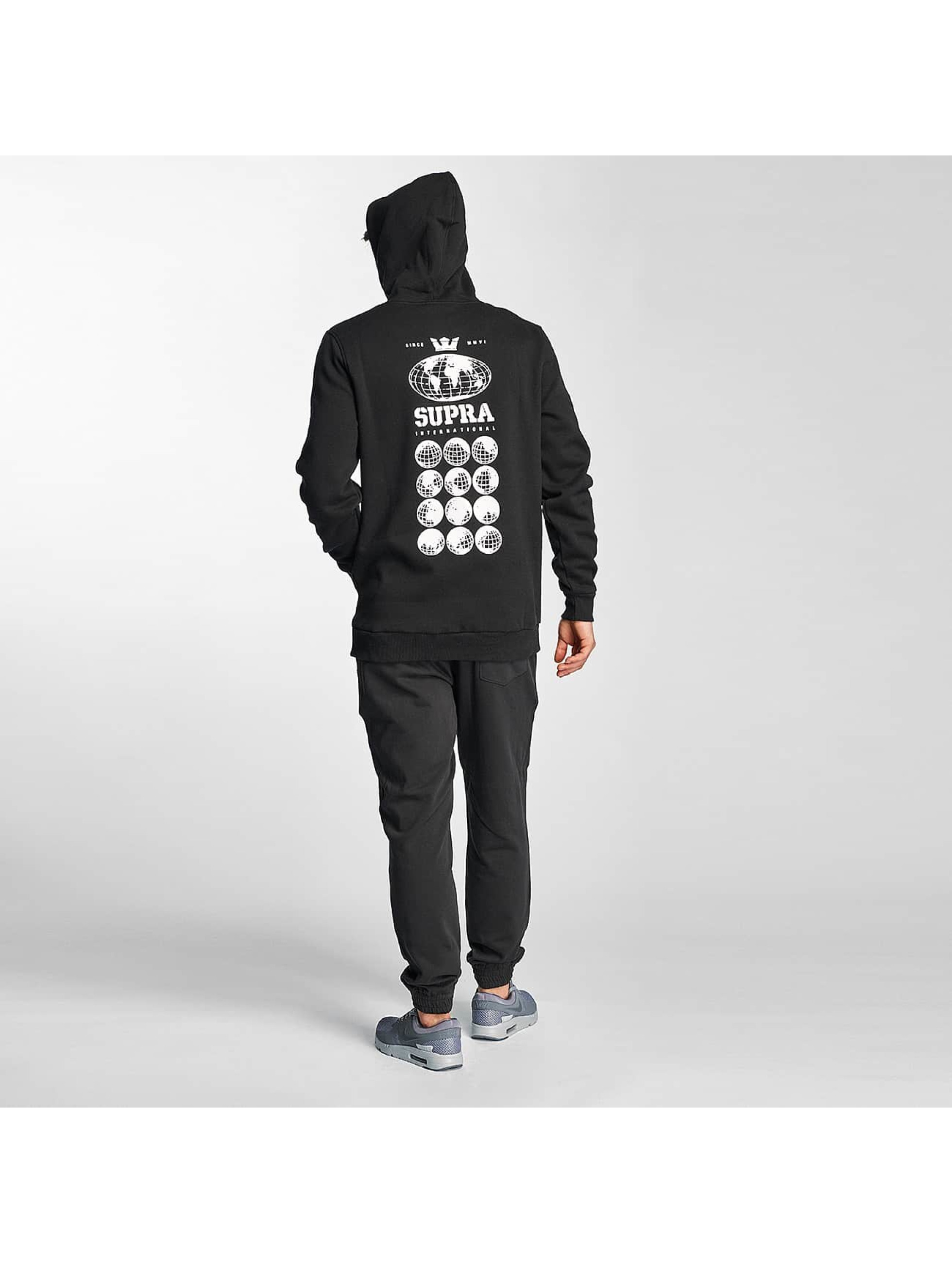 Supra Hoodie Internations svart