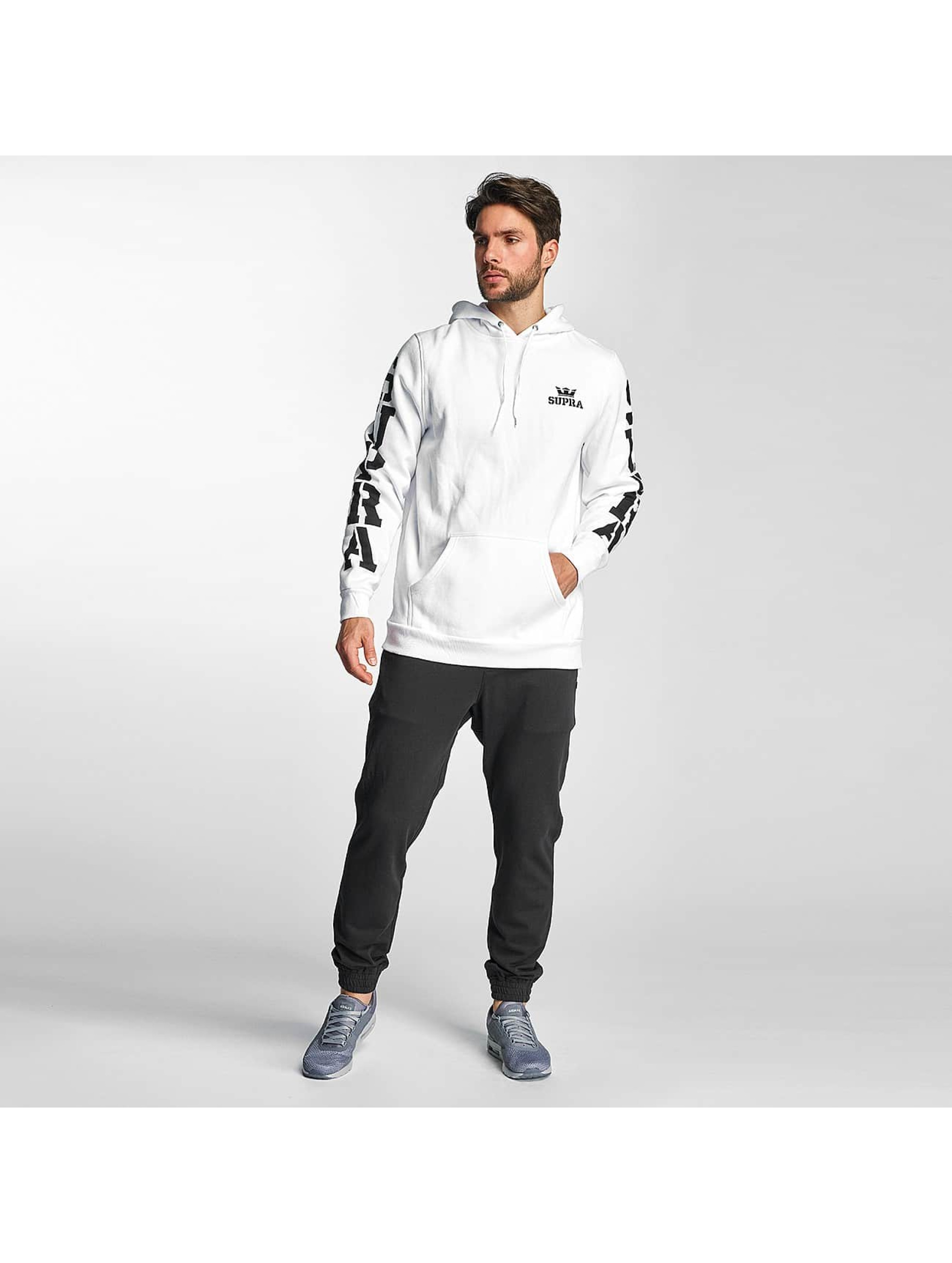 Supra Hoodies Major hvid