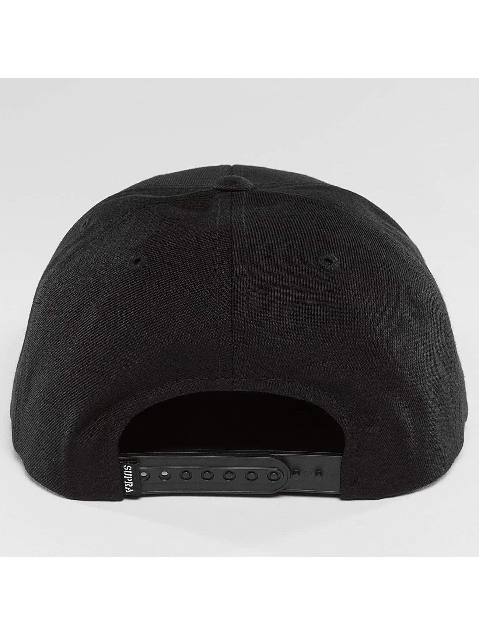 Supra Snapback Cap Icon black