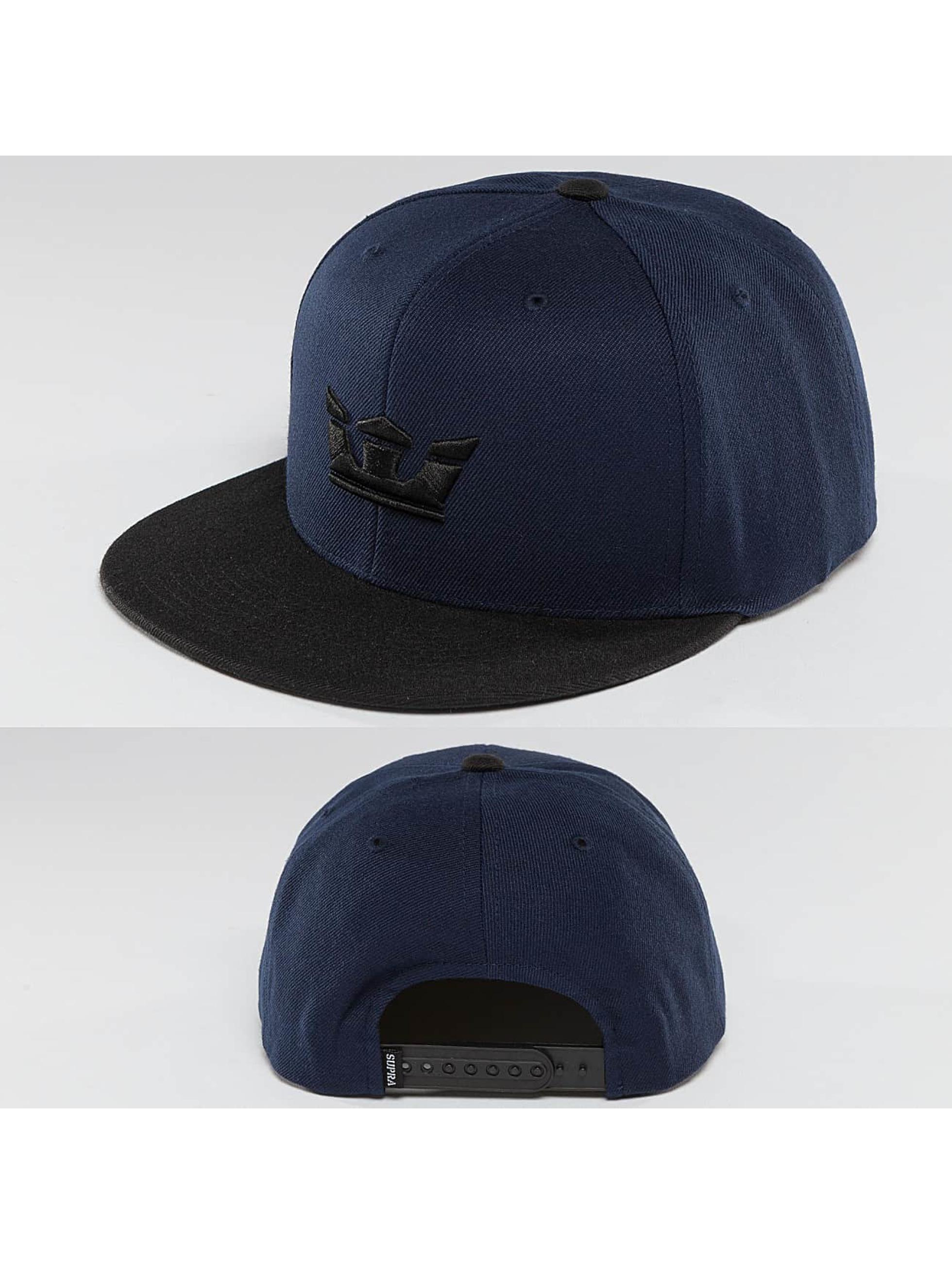 Supra Snapback Caps Icon blå