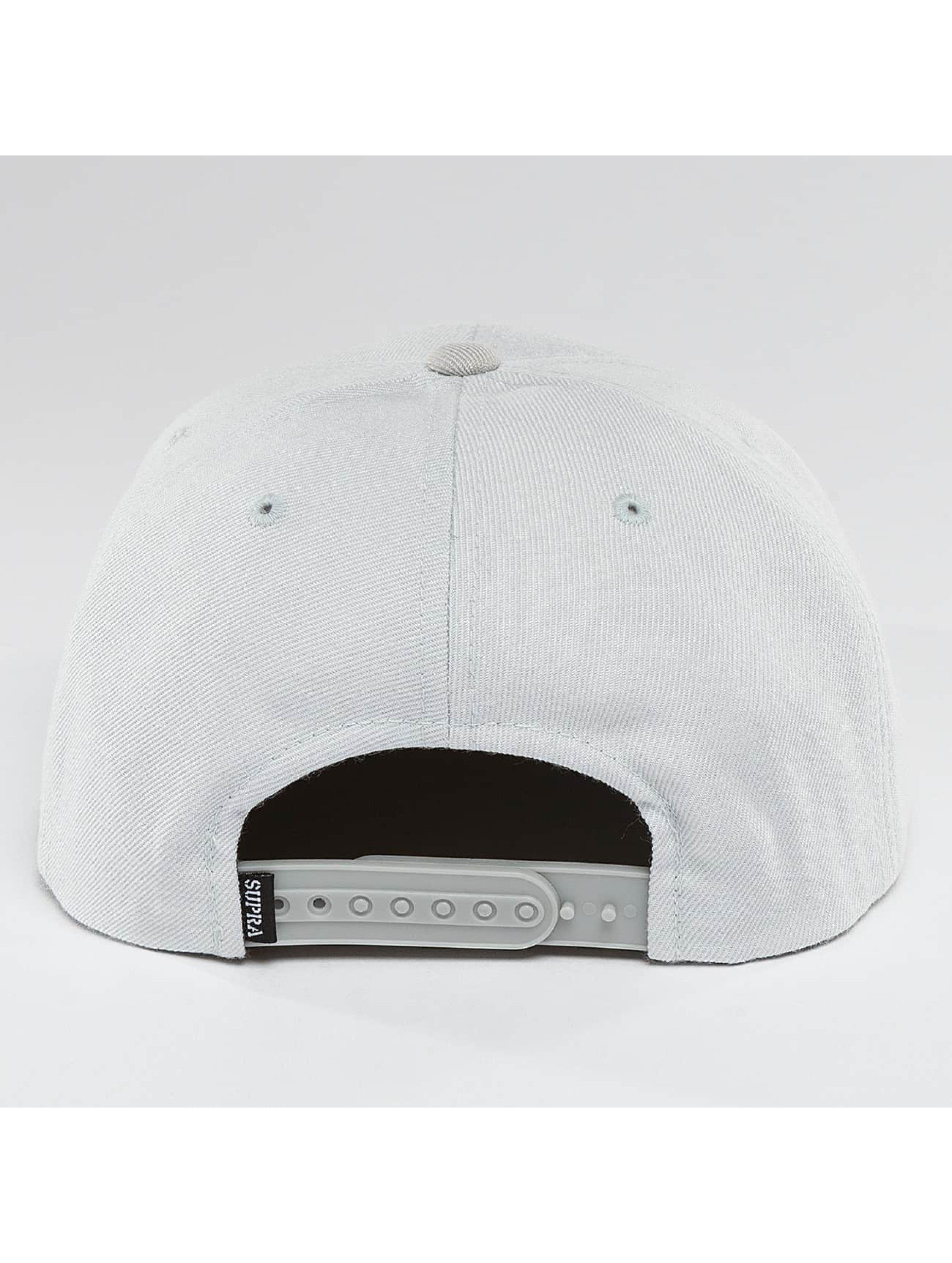 Supra Snapback Caps Icon grå