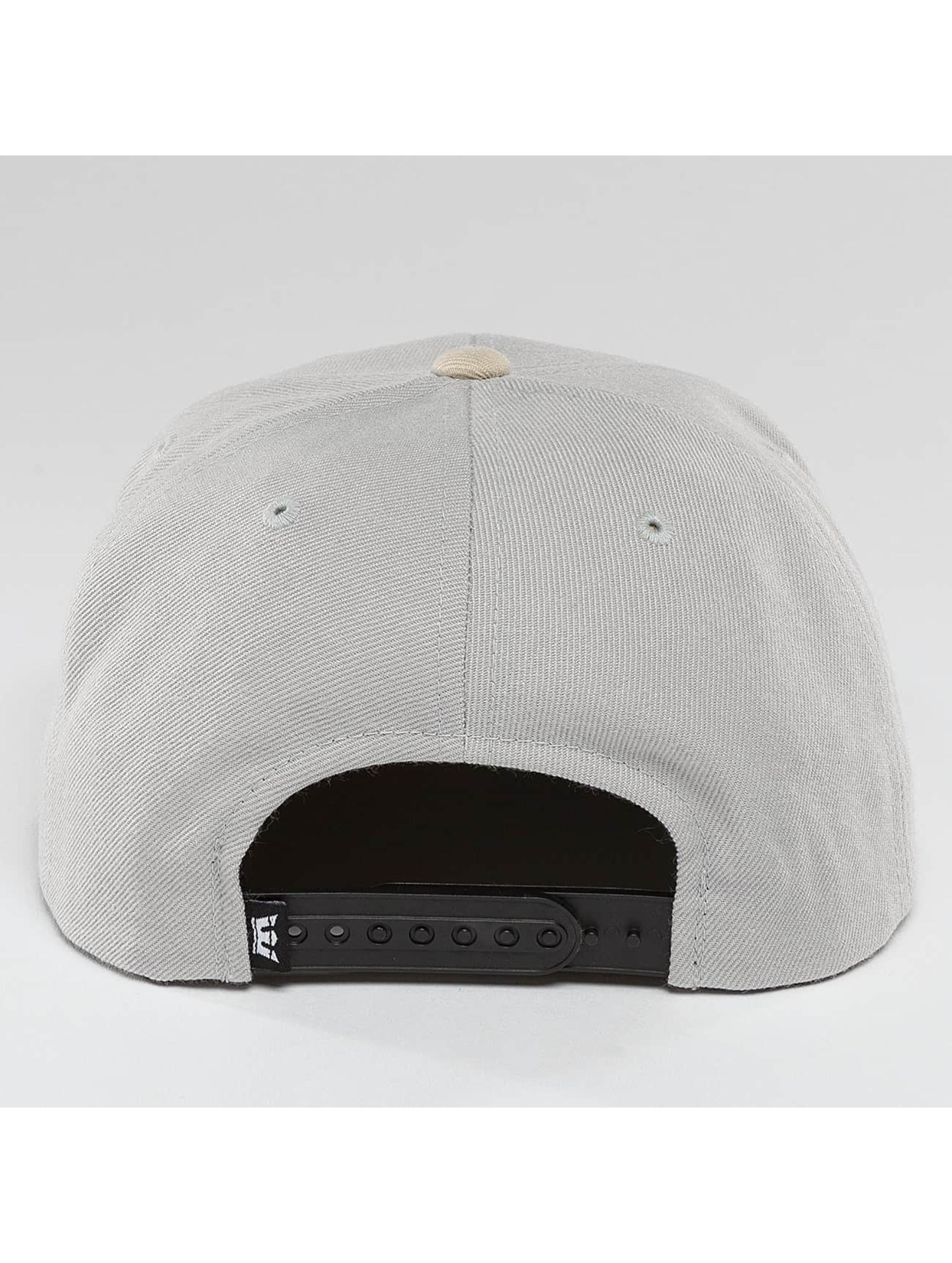 Supra Snapback Caps Above harmaa
