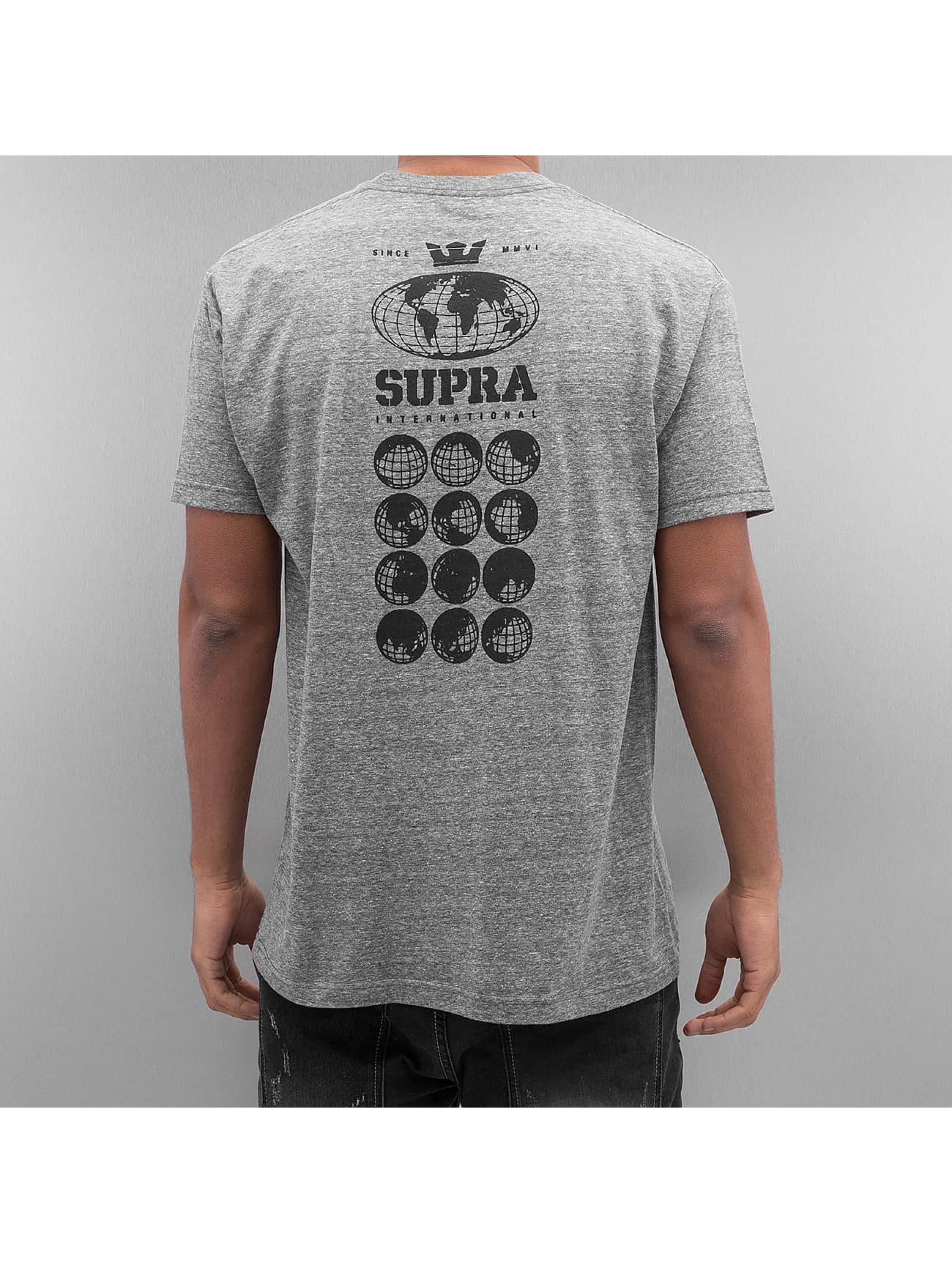 Supra T-paidat Worldwide Reg harmaa