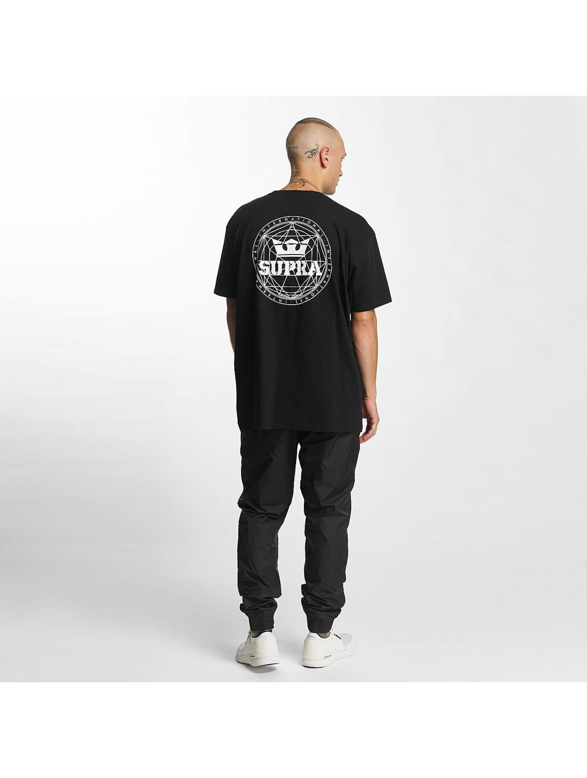 Supra T-Shirt Geo Regular schwarz