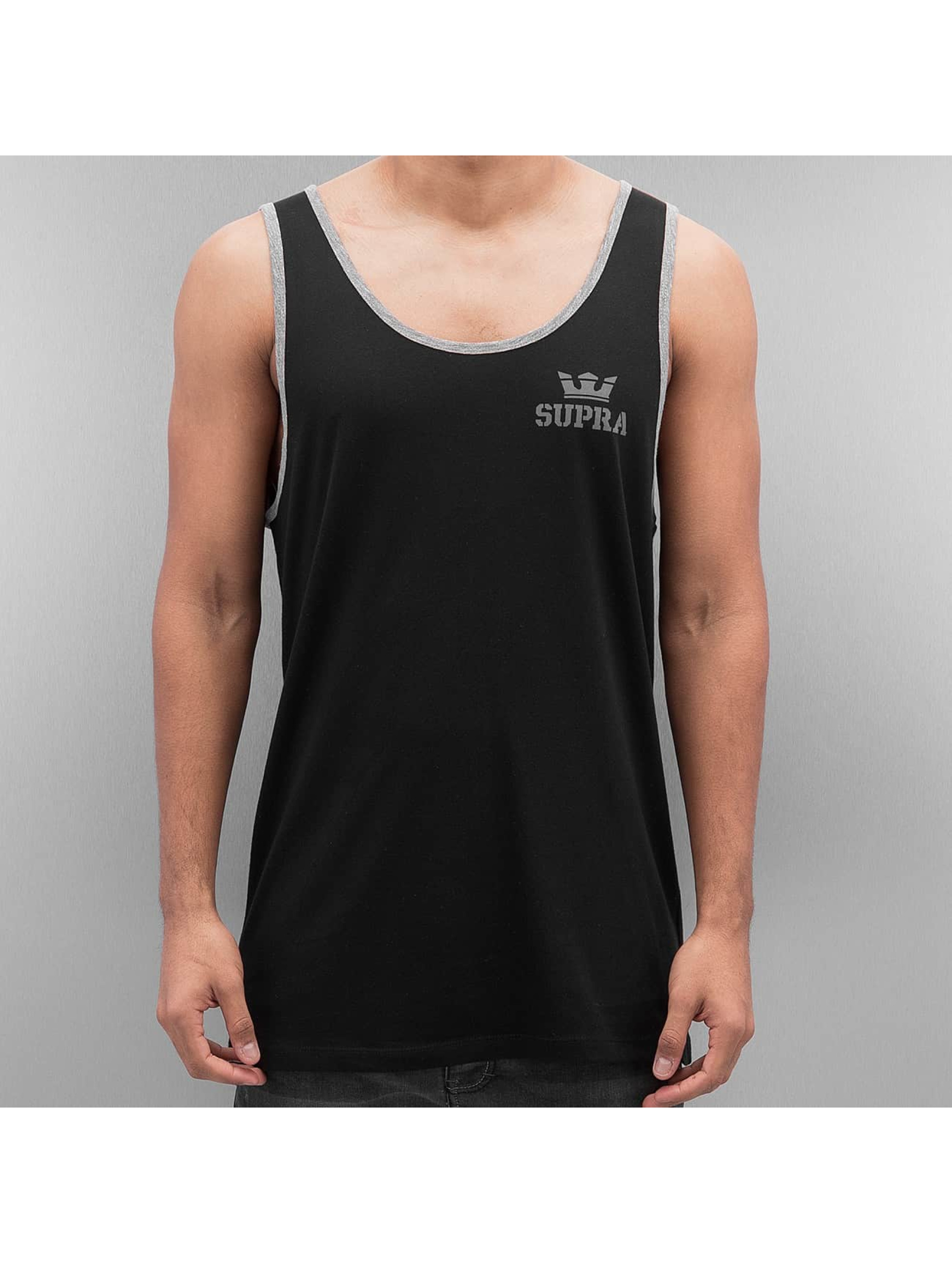Supra Tank Tops Crown Prem Ringer sort