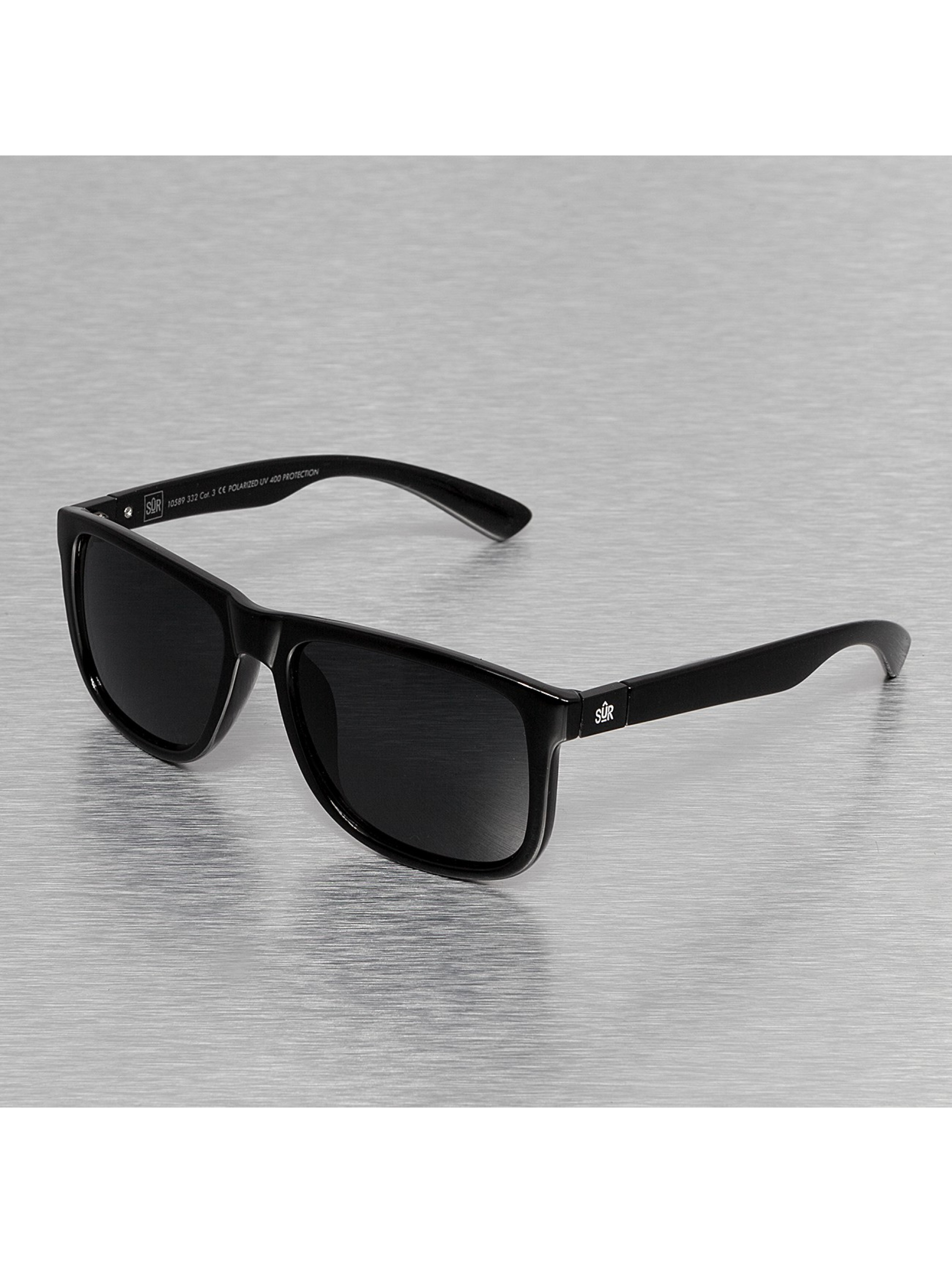 Sonnenbrille Street Checker Polarized in schwarz