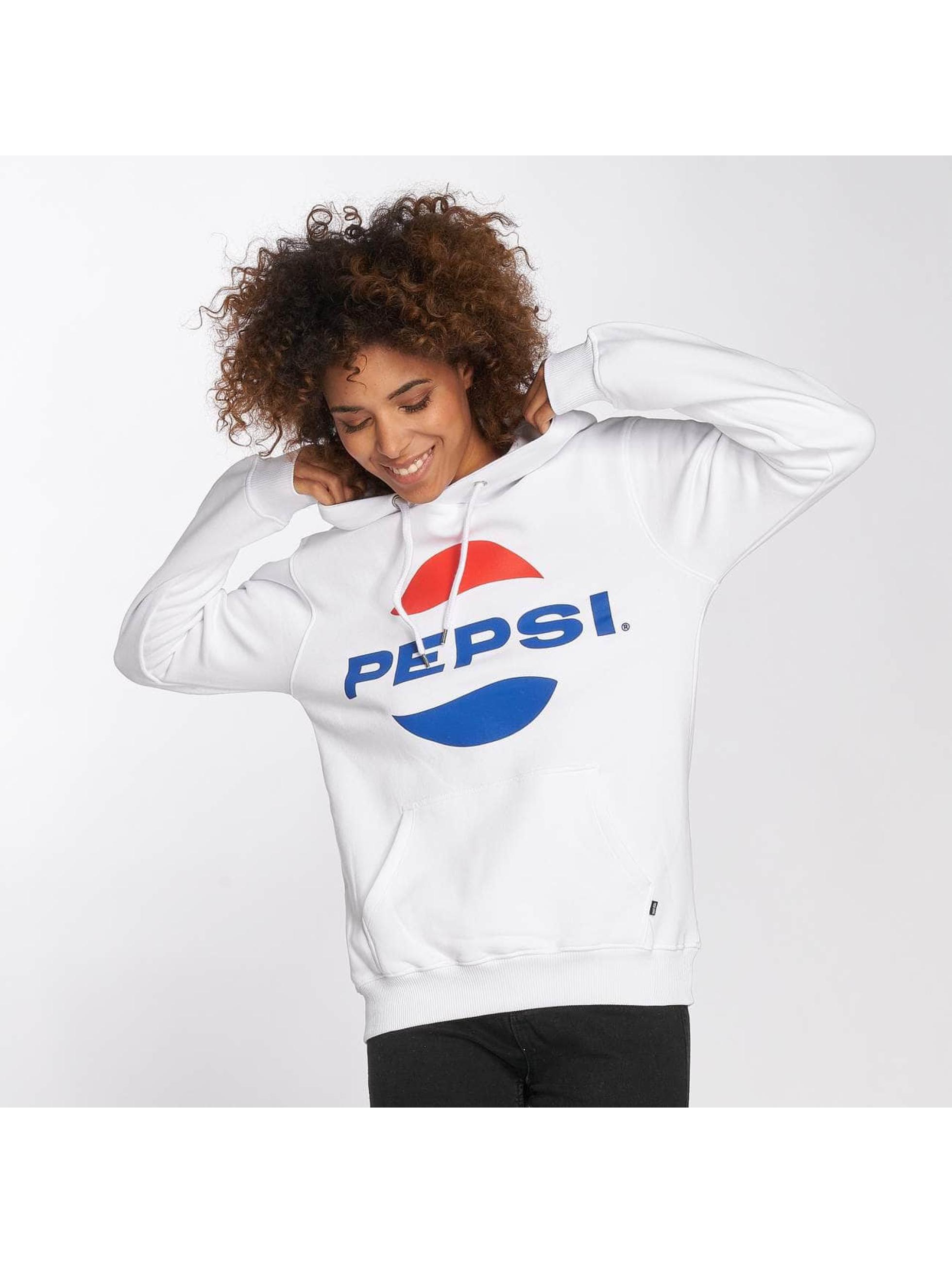 Sweet SKTBS Bluzy z kapturem Pepsi Logo bialy
