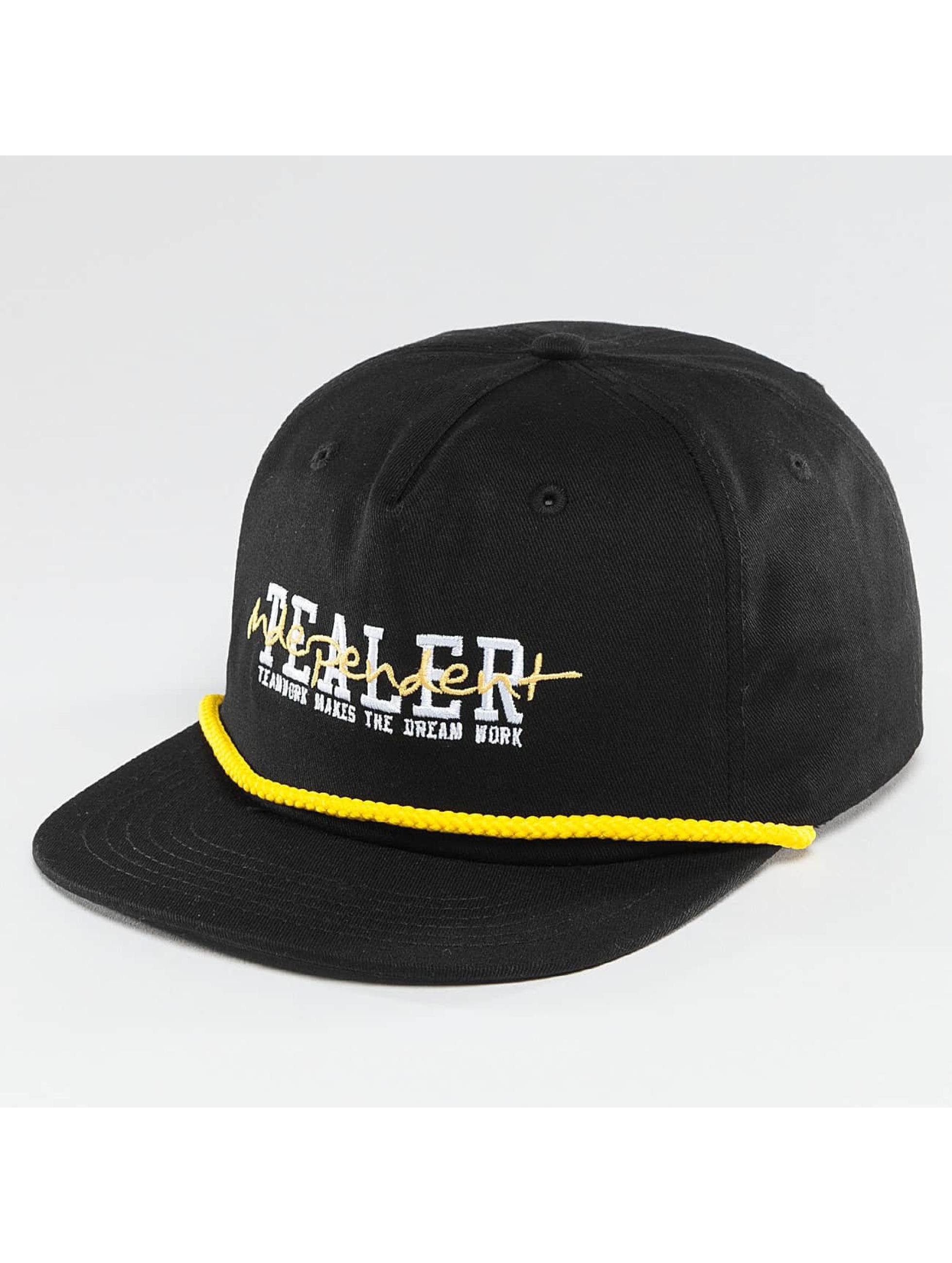 Tealer 5 Panel Caps Independent czarny