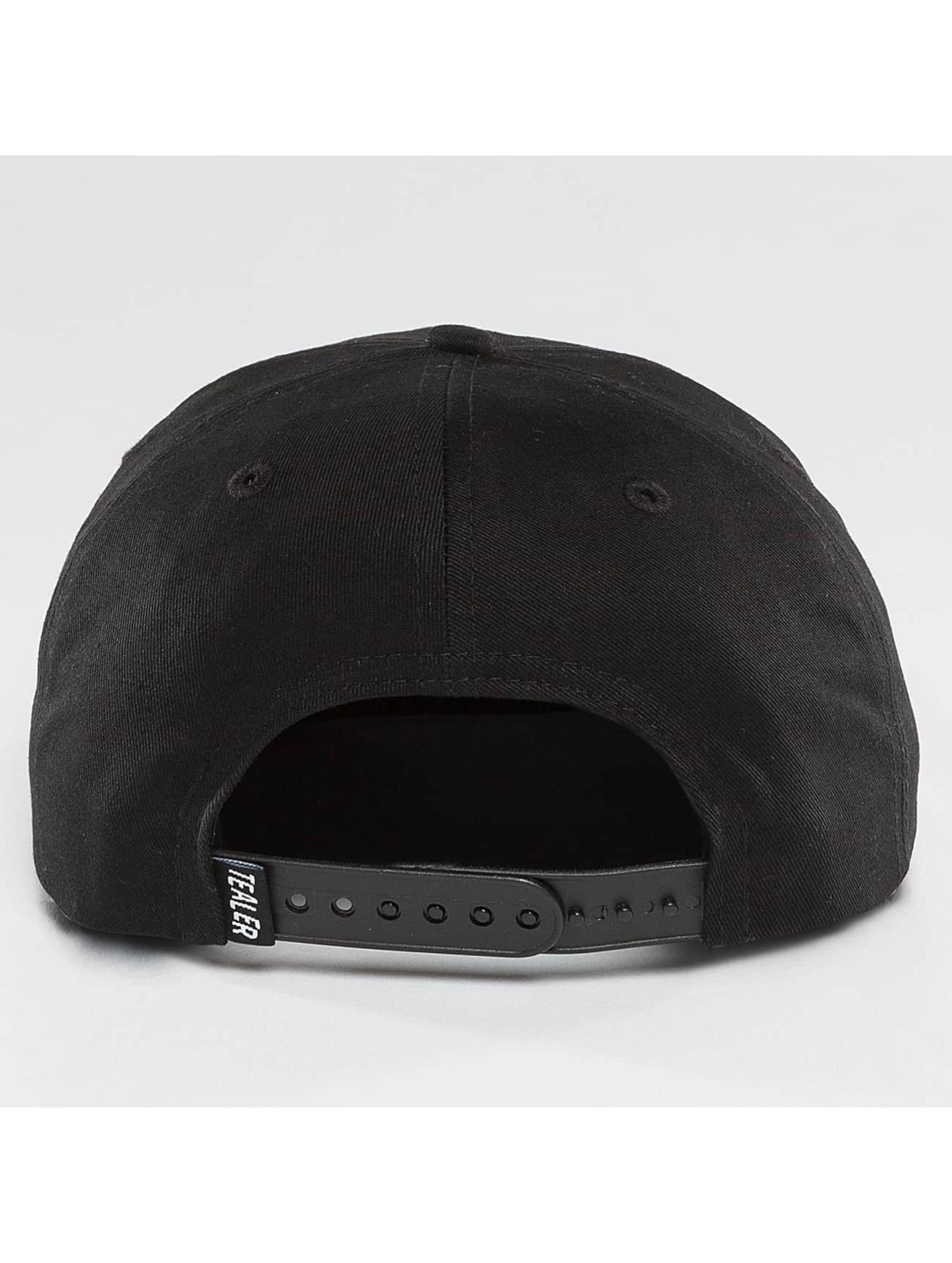 Tealer 5 Panel Caps Independent schwarz