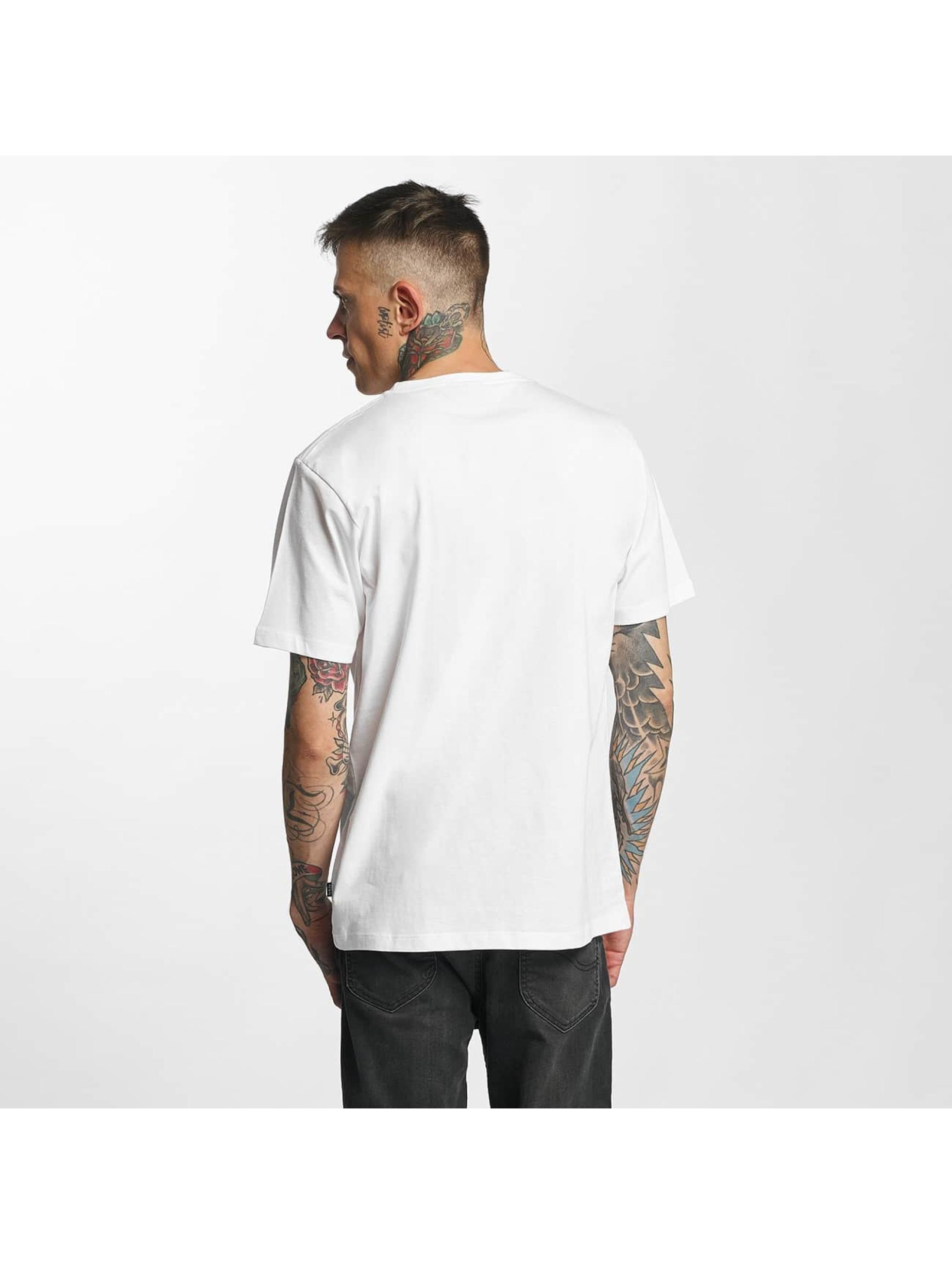 Tealer T-Shirt Leaf weiß