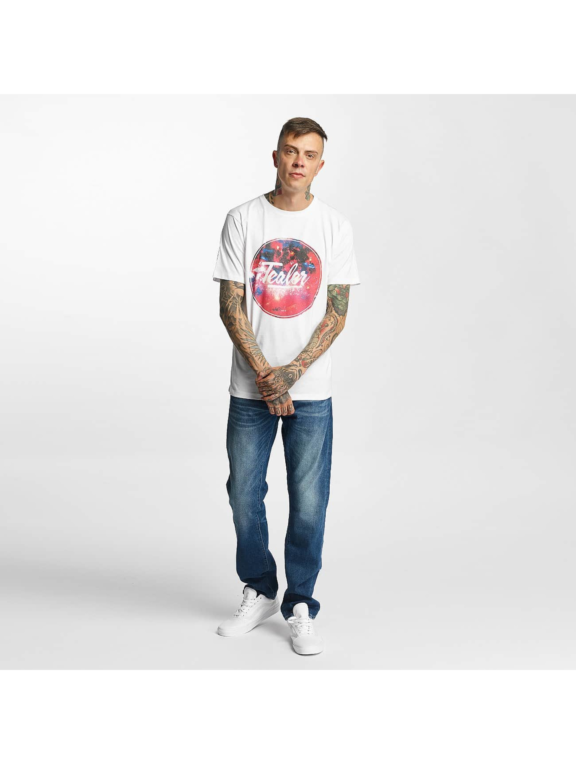 Tealer T-Shirty Rond Galaxy bialy